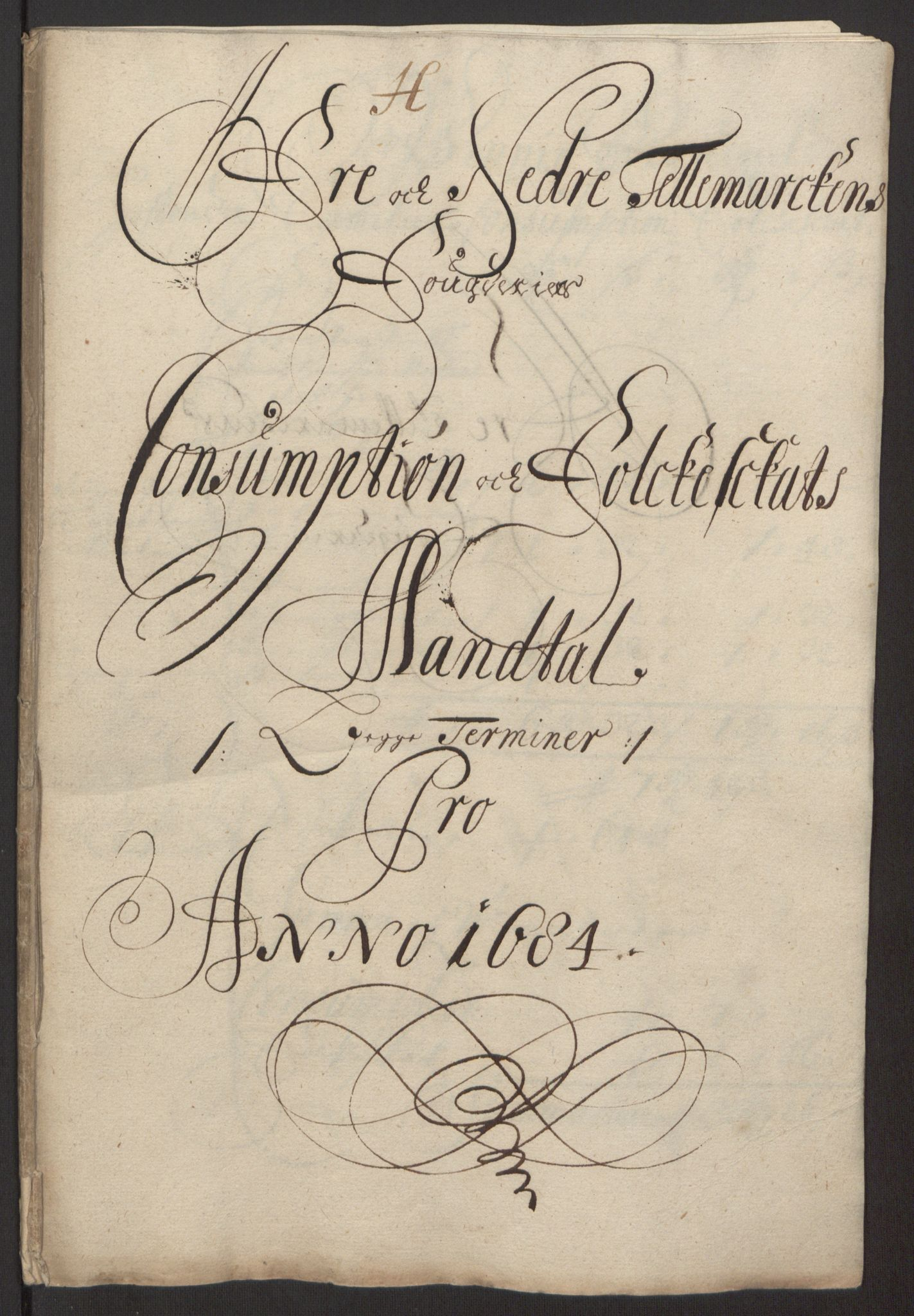 RA, Rentekammeret inntil 1814, Reviderte regnskaper, Fogderegnskap, R35/L2081: Fogderegnskap Øvre og Nedre Telemark, 1680-1684, s. 134