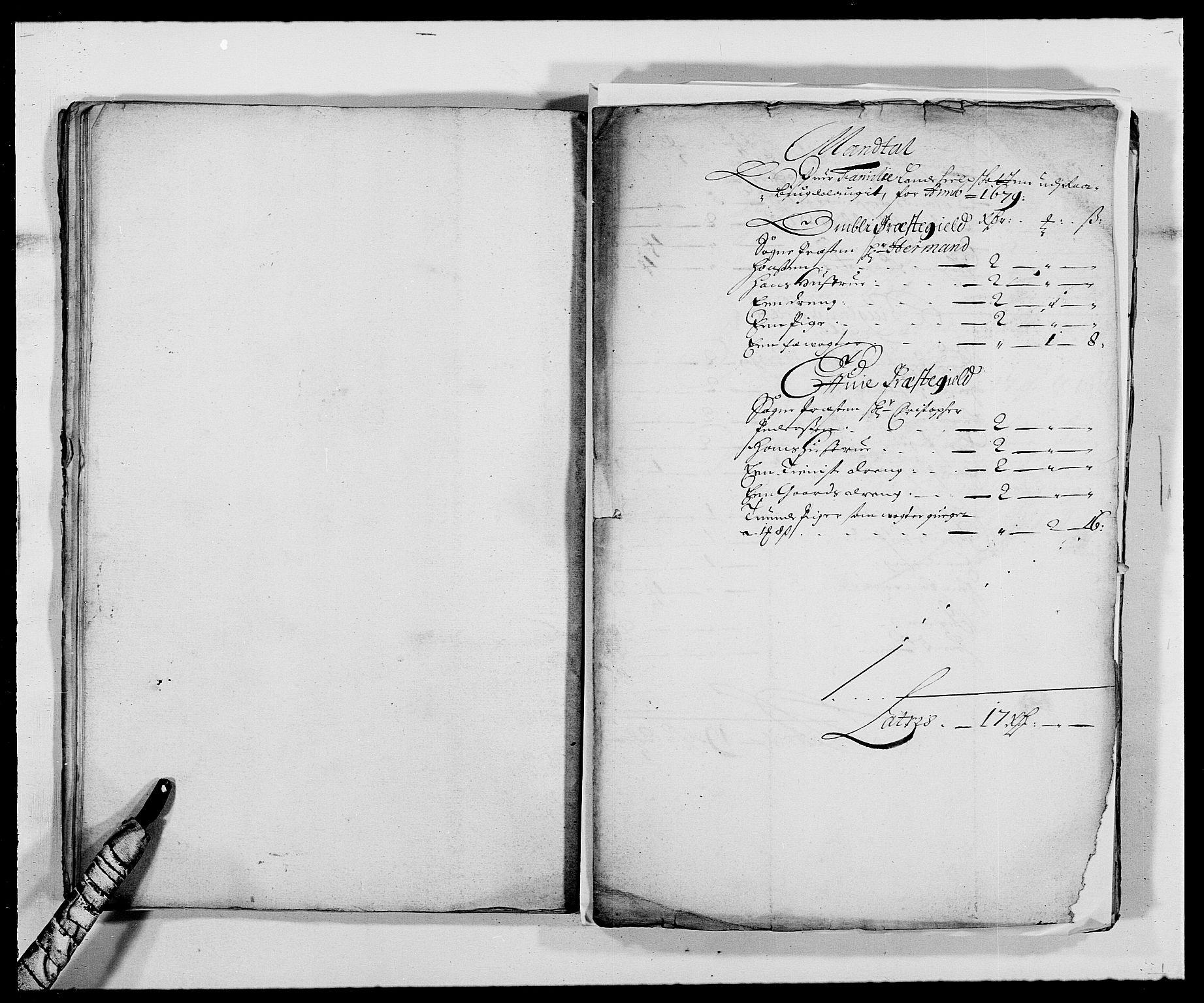 RA, Rentekammeret inntil 1814, Reviderte regnskaper, Fogderegnskap, R40/L2436: Fogderegnskap Råbyggelag, 1679-1680, s. 105