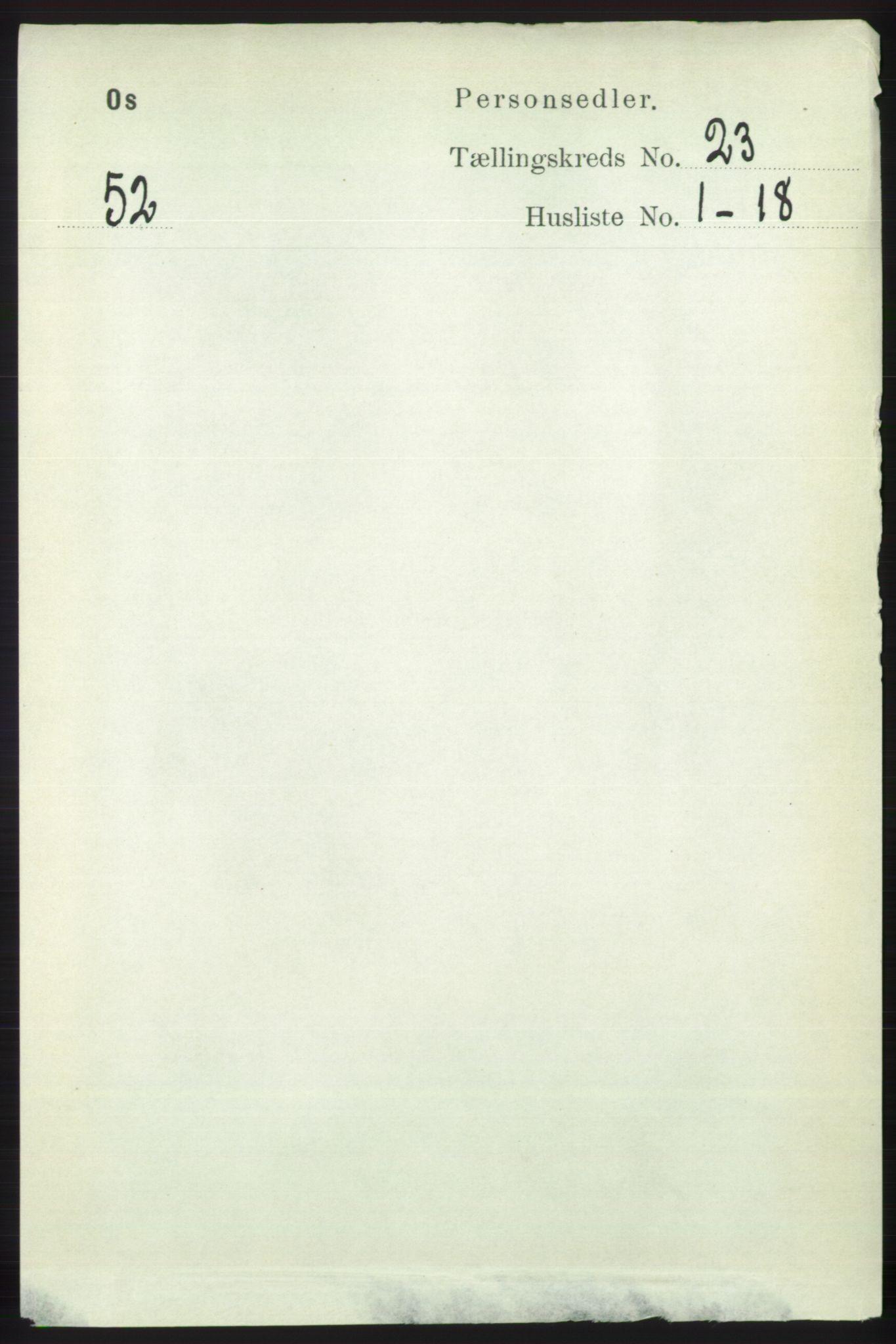 RA, Folketelling 1891 for 1243 Os herred, 1891, s. 5065