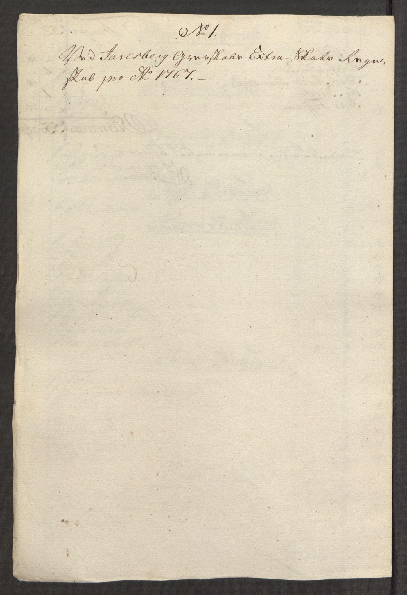 RA, Rentekammeret inntil 1814, Reviderte regnskaper, Fogderegnskap, R32/L1960: Ekstraskatten Jarlsberg grevskap, 1762-1772, s. 130