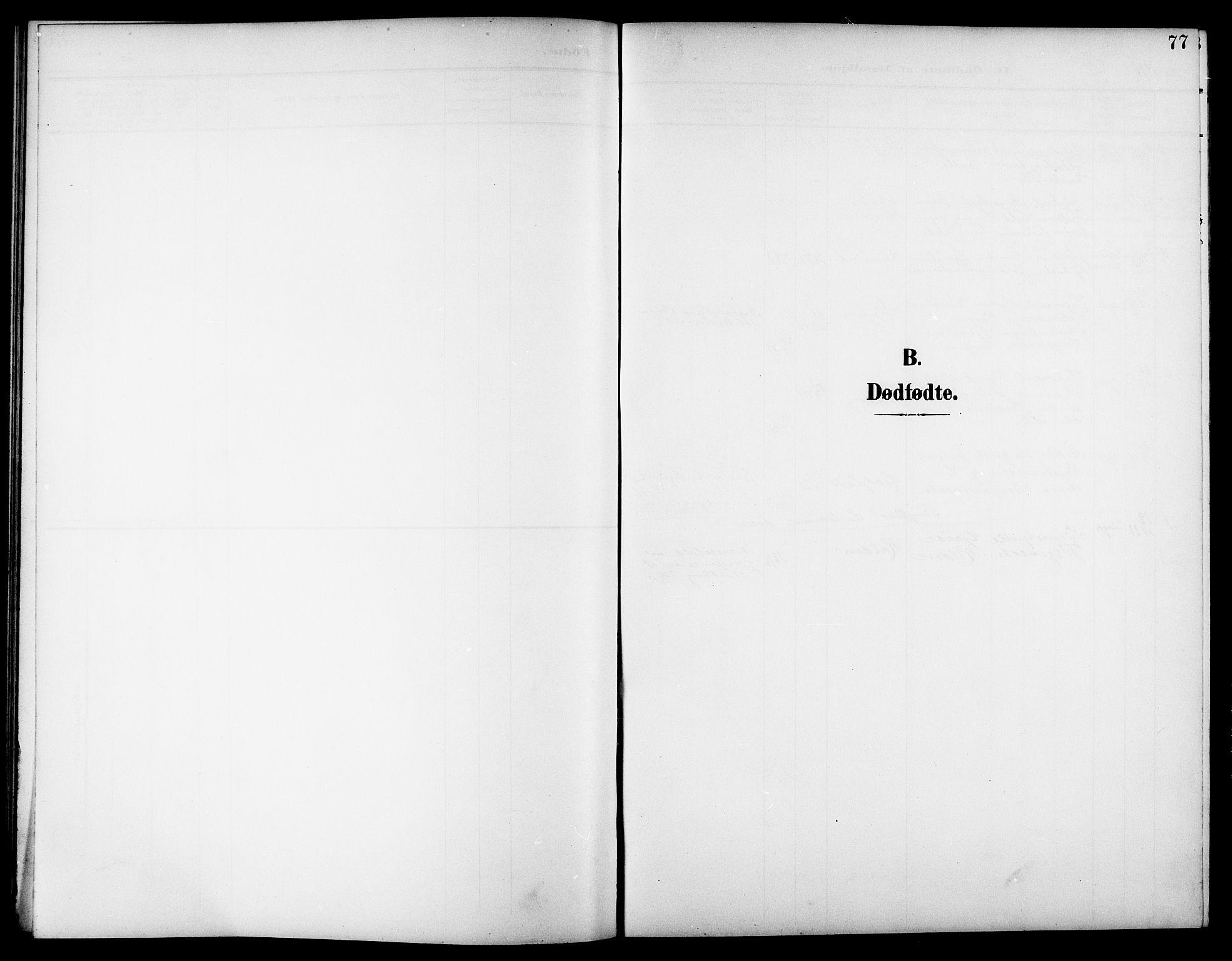 SAT, Ministerialprotokoller, klokkerbøker og fødselsregistre - Nord-Trøndelag, 744/L0424: Klokkerbok nr. 744C03, 1906-1923, s. 77