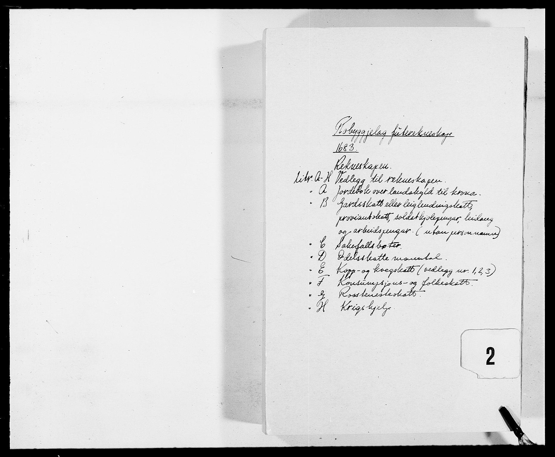 RA, Rentekammeret inntil 1814, Reviderte regnskaper, Fogderegnskap, R40/L2438: Fogderegnskap Råbyggelag, 1682-1683, s. 160