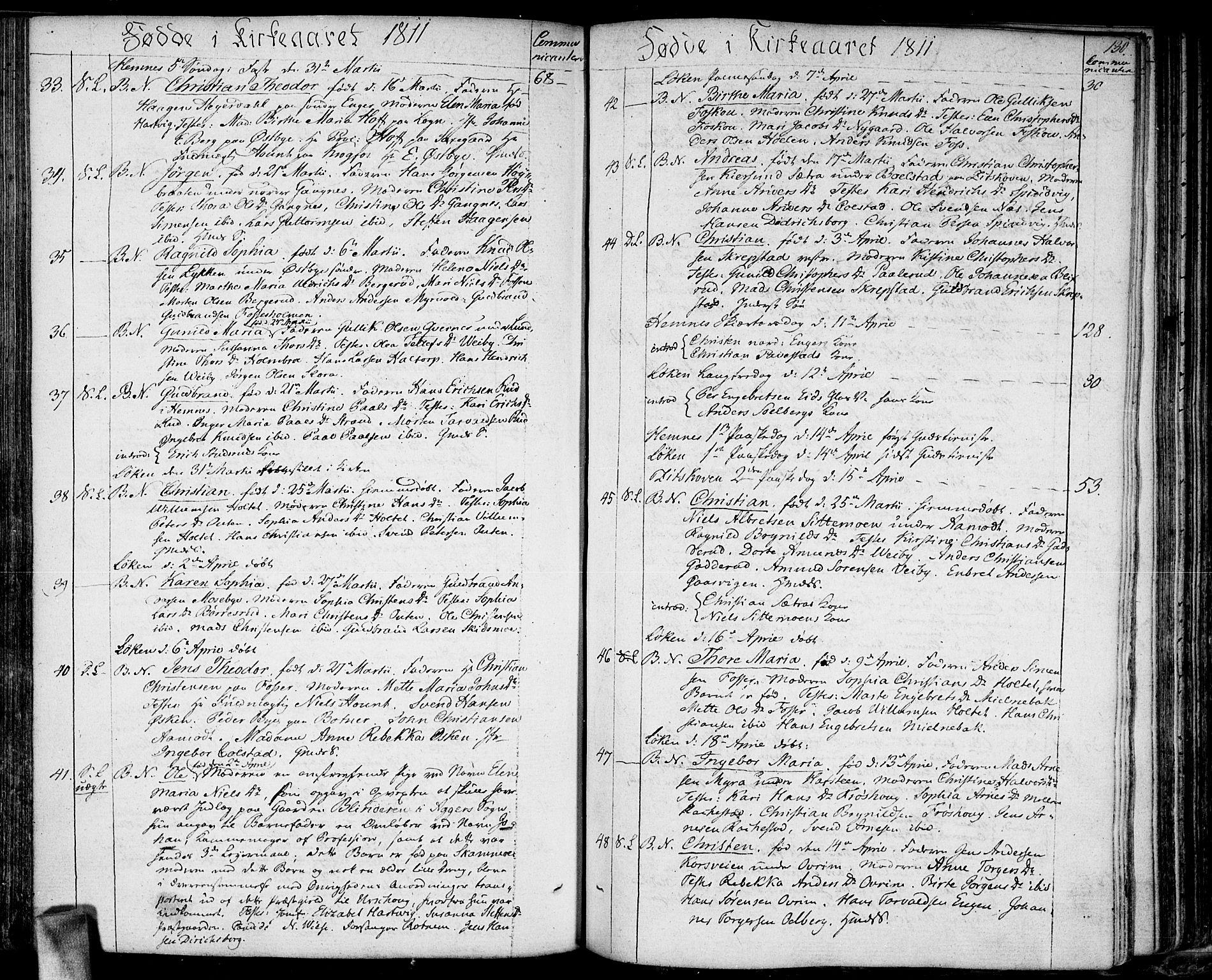 SAO, Høland prestekontor Kirkebøker, F/Fa/L0006: Ministerialbok nr. I 6, 1794-1814, s. 130