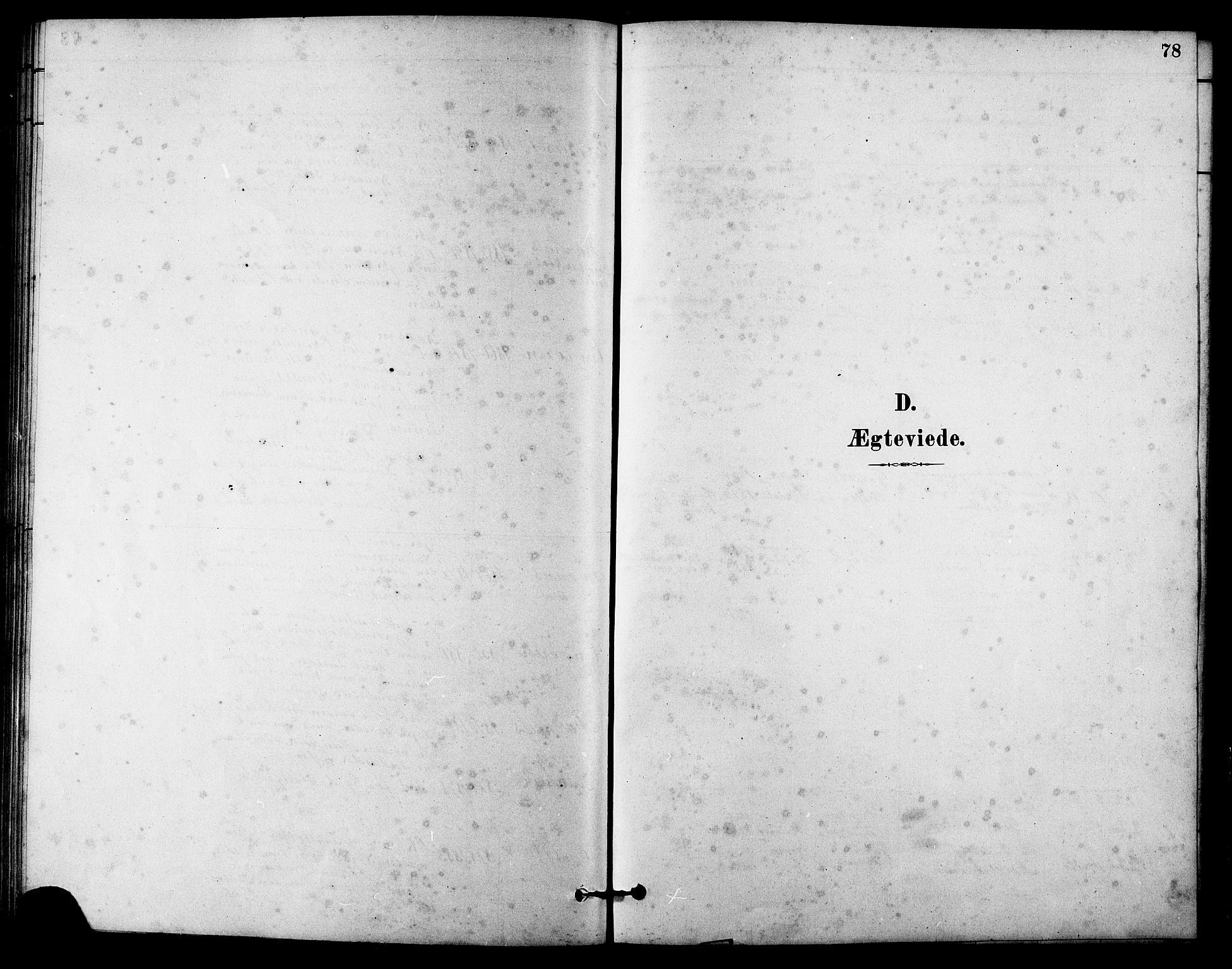 SAT, Ministerialprotokoller, klokkerbøker og fødselsregistre - Sør-Trøndelag, 631/L0514: Klokkerbok nr. 631C02, 1879-1912, s. 78