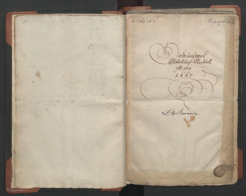 RA, Sogneprestenes manntall 1664-1666, nr. 4: Øvre Romerike prosti, 1664-1666, s. 14-15