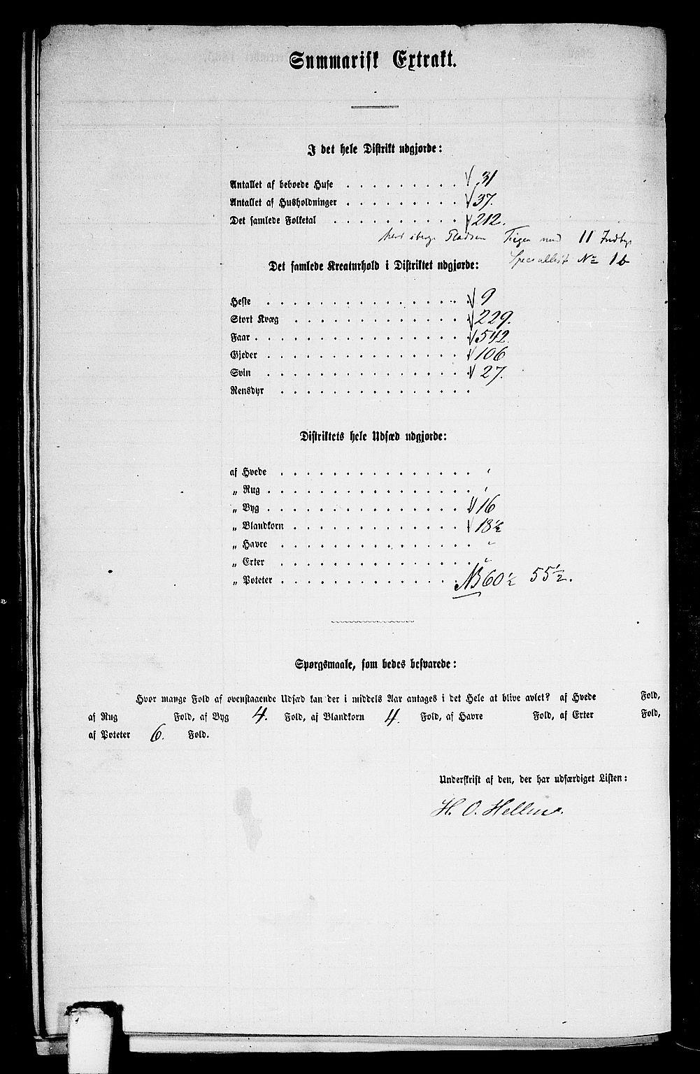 RA, Folketelling 1865 for 1418P Balestrand prestegjeld, 1865, s. 62