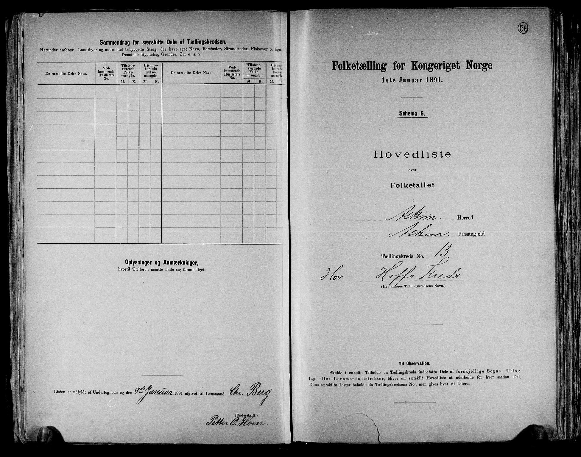 RA, Folketelling 1891 for 0124 Askim herred, 1891, s. 30