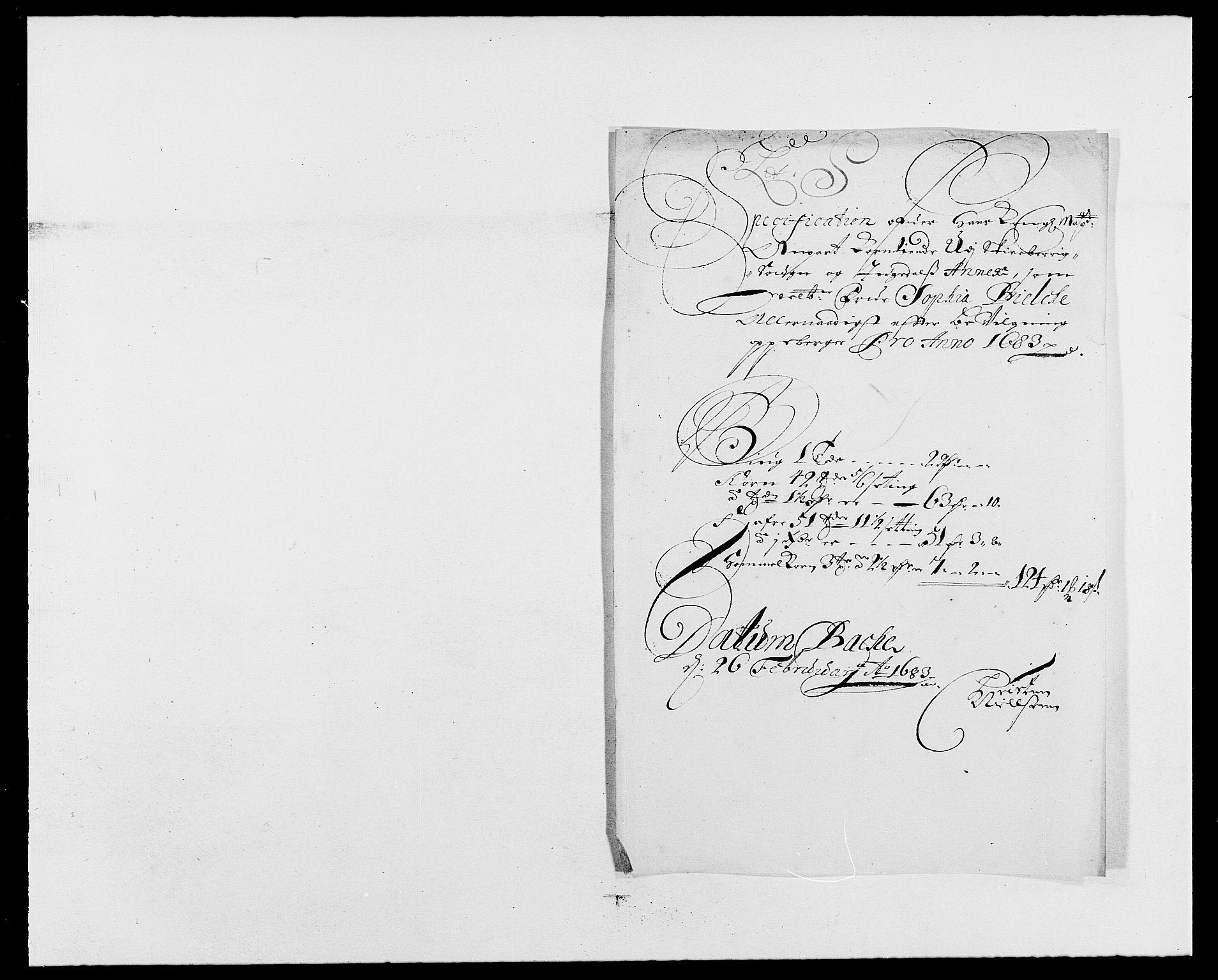 RA, Rentekammeret inntil 1814, Reviderte regnskaper, Fogderegnskap, R01/L0004: Fogderegnskap Idd og Marker , 1682-1683, s. 302