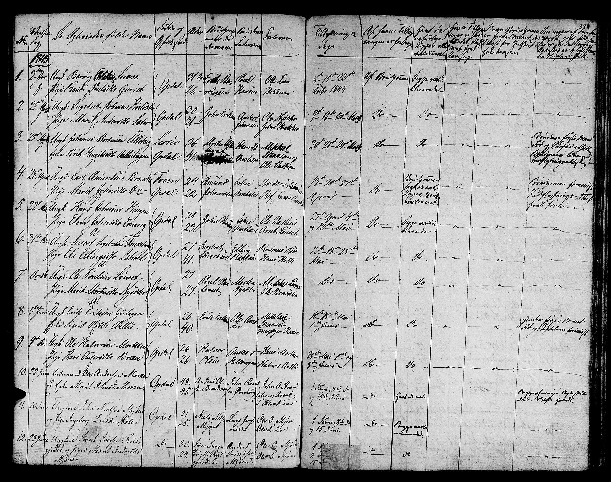 SAT, Ministerialprotokoller, klokkerbøker og fødselsregistre - Sør-Trøndelag, 678/L0897: Ministerialbok nr. 678A06-07, 1821-1847, s. 328