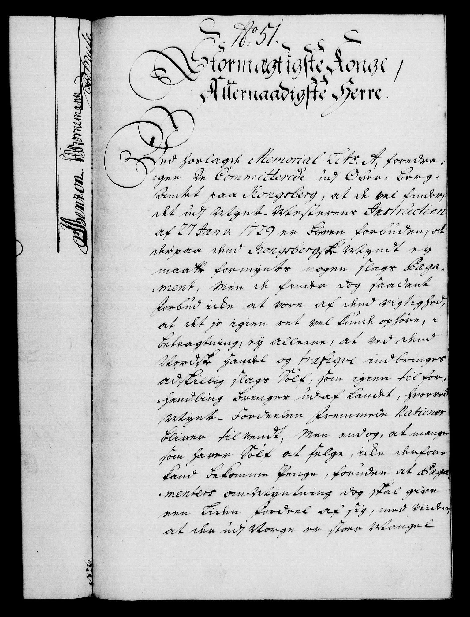 RA, Rentekammeret, Kammerkanselliet, G/Gf/Gfa/L0022: Norsk relasjons- og resolusjonsprotokoll (merket RK 52.22), 1739, s. 421