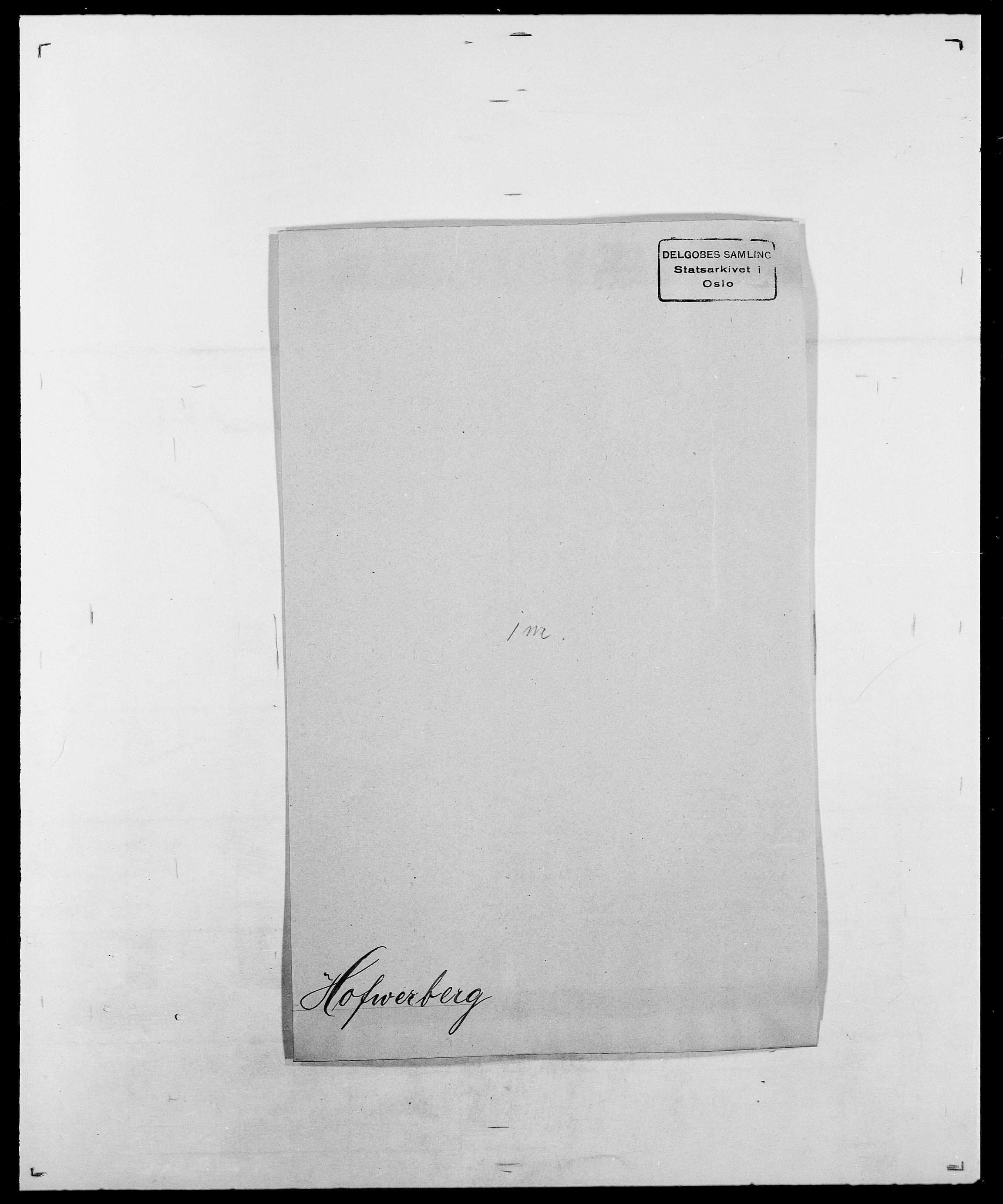 SAO, Delgobe, Charles Antoine - samling, D/Da/L0018: Hoch - Howert, s. 141