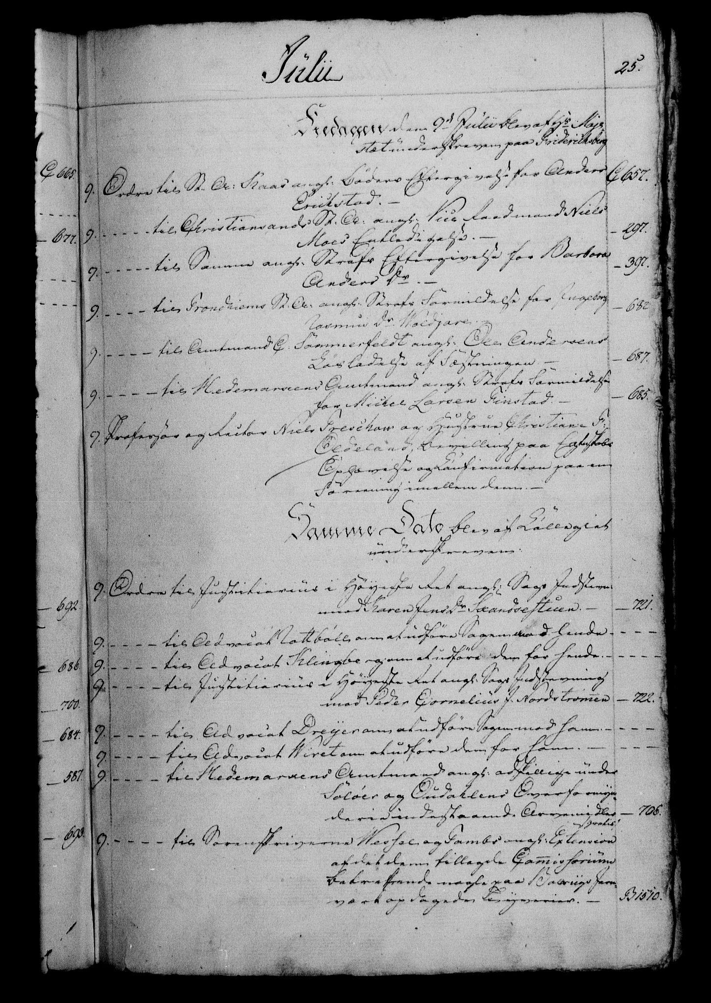 RA, Danske Kanselli 1800-1814, H/Hf/Hfb/Hfbc/L0003: Underskrivelsesbok m. register, 1802, s. 25