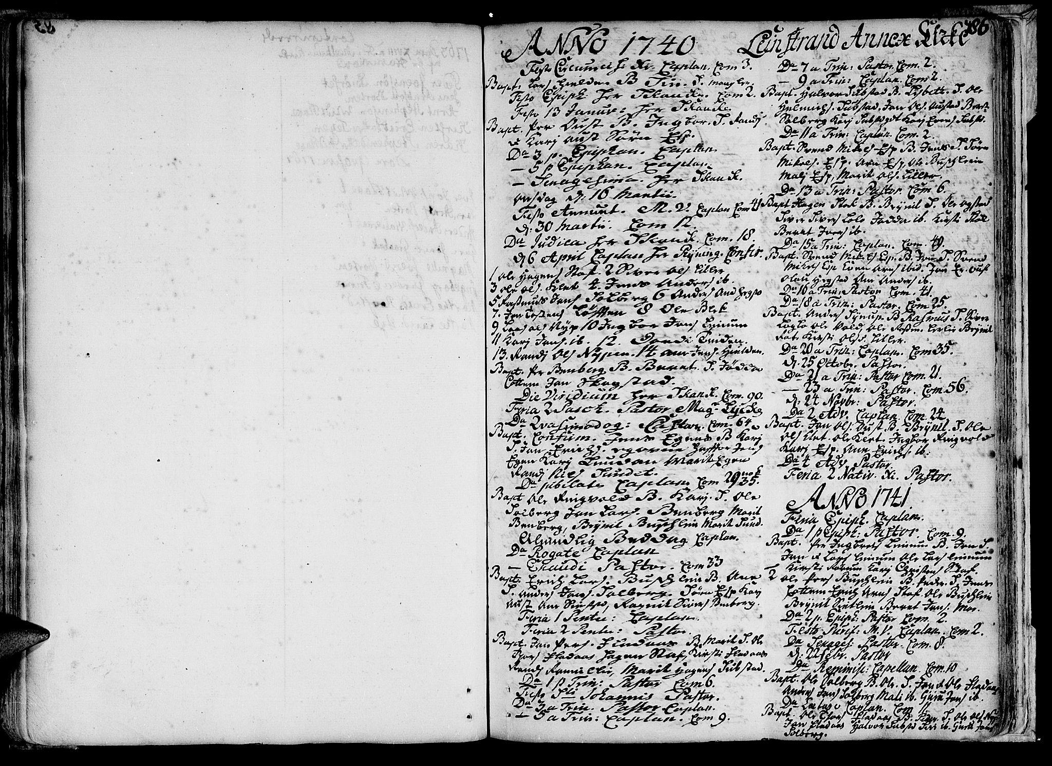 SAT, Ministerialprotokoller, klokkerbøker og fødselsregistre - Sør-Trøndelag, 691/L1059: Ministerialbok nr. 691A01 /3, 1740-1767, s. 86
