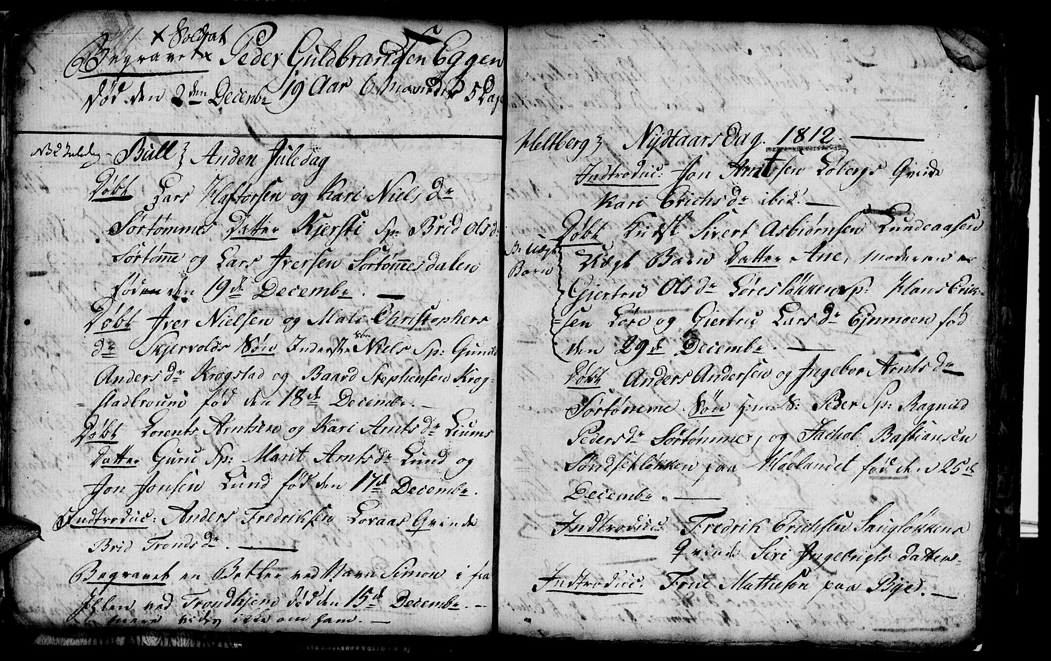 SAT, Ministerialprotokoller, klokkerbøker og fødselsregistre - Sør-Trøndelag, 692/L1107: Klokkerbok nr. 692C02, 1809-1824