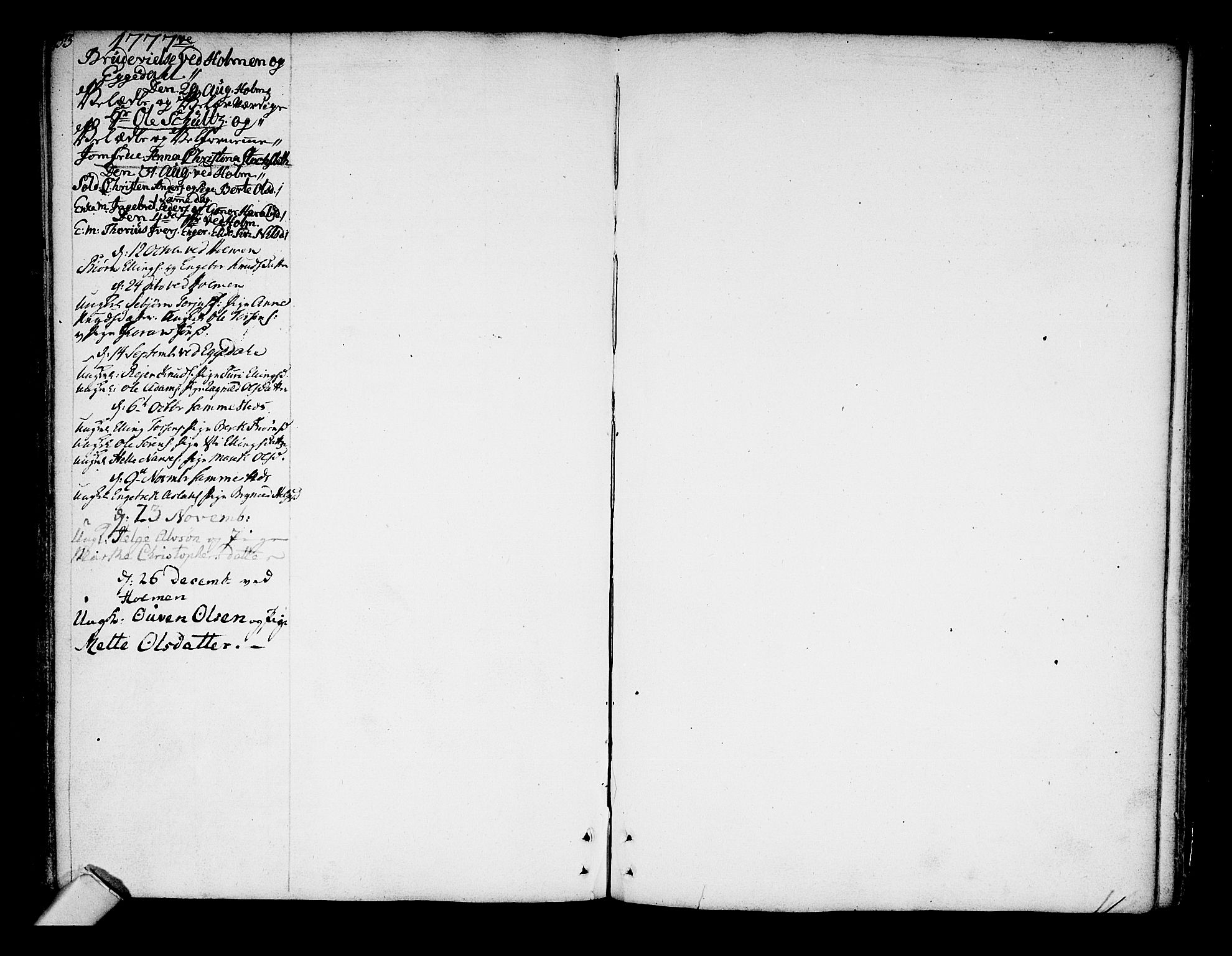 SAKO, Sigdal kirkebøker, F/Fa/L0001: Ministerialbok nr. I 1, 1722-1777, s. 153-154