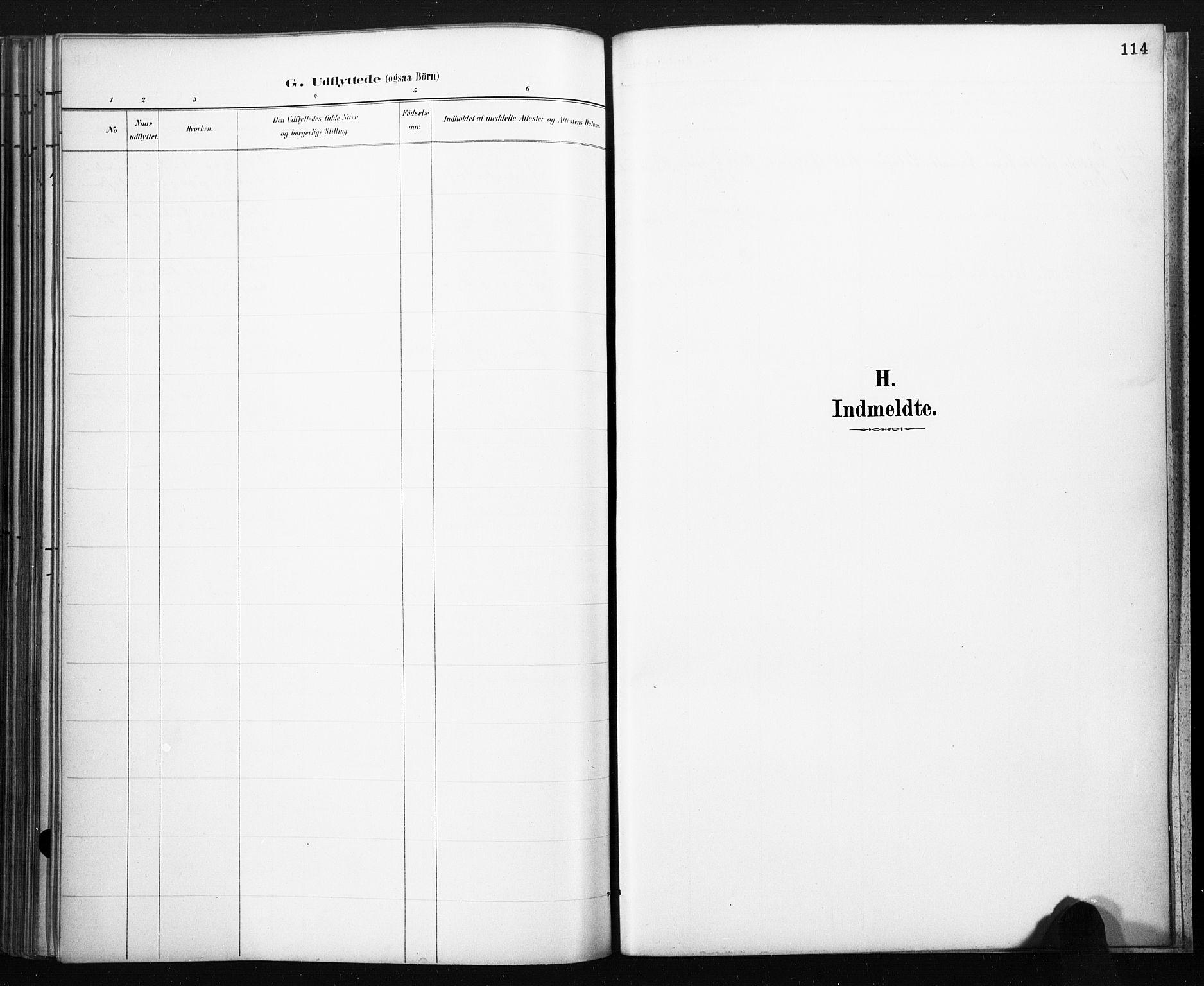 SAKO, Lårdal kirkebøker, F/Fb/L0002: Ministerialbok nr. II 2, 1887-1918, s. 114