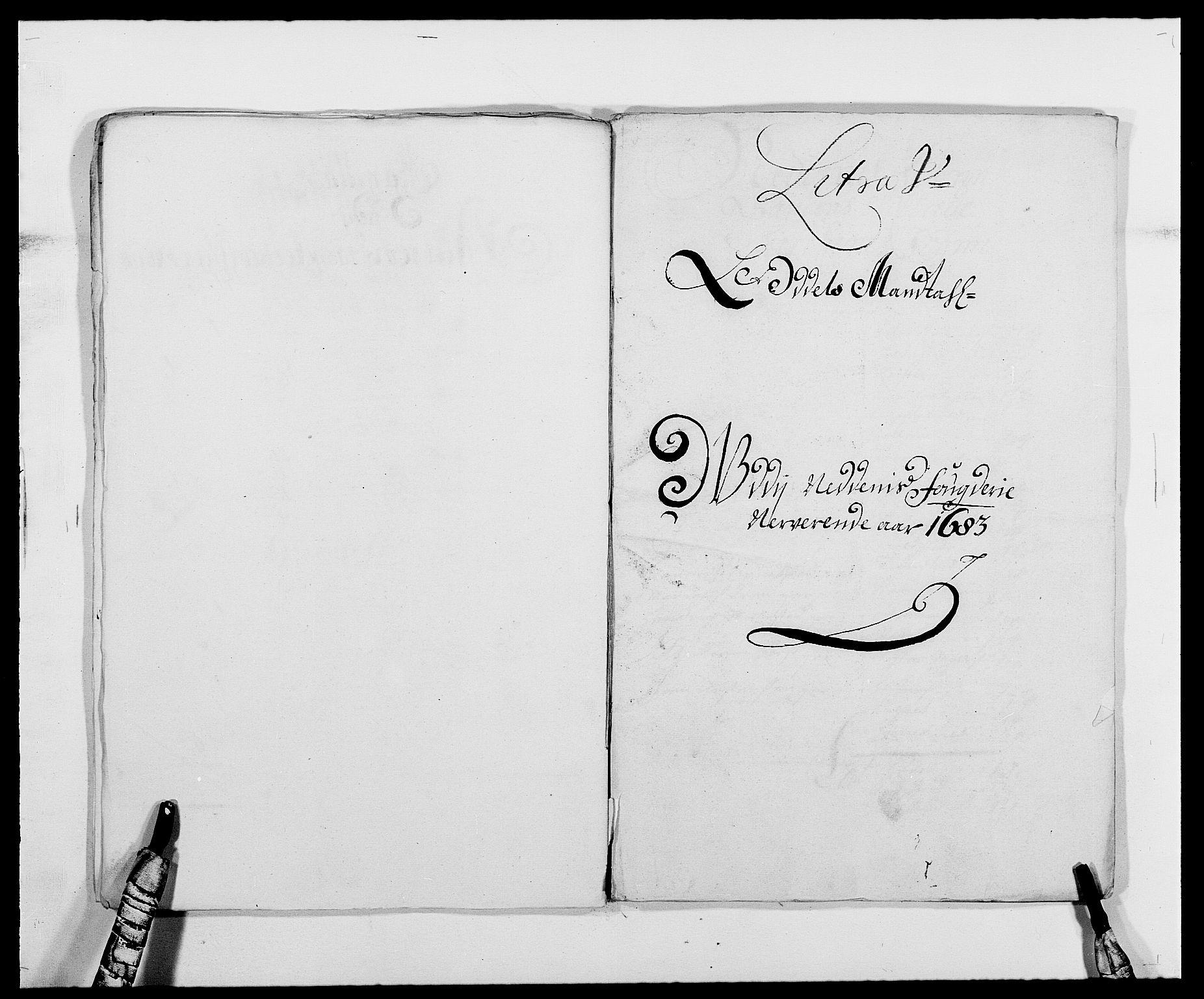 RA, Rentekammeret inntil 1814, Reviderte regnskaper, Fogderegnskap, R39/L2305: Fogderegnskap Nedenes, 1683, s. 86
