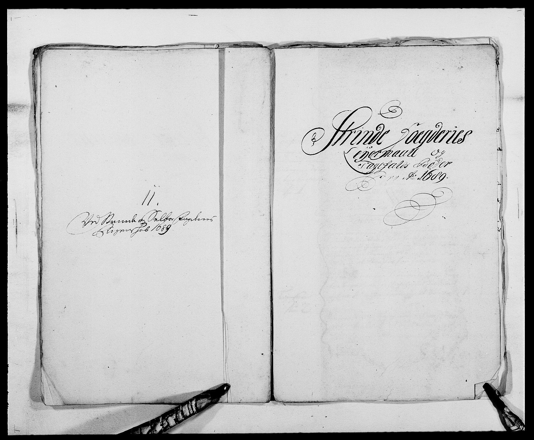 RA, Rentekammeret inntil 1814, Reviderte regnskaper, Fogderegnskap, R61/L4102: Fogderegnskap Strinda og Selbu, 1689-1690, s. 66