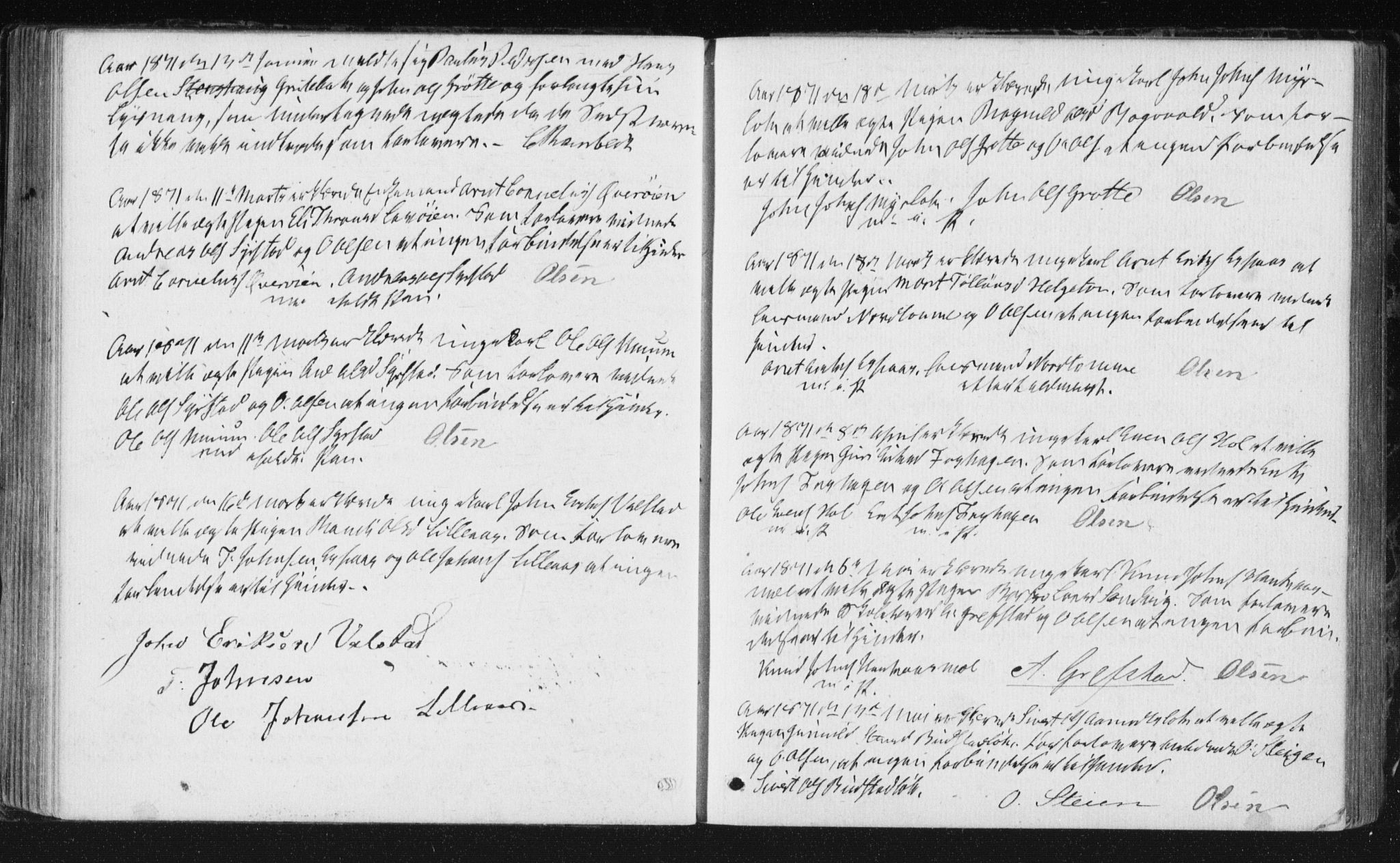 SAT, Ministerialprotokoller, klokkerbøker og fødselsregistre - Sør-Trøndelag, 672/L0859: Ministerialbok nr. 672A11, 1852-1900