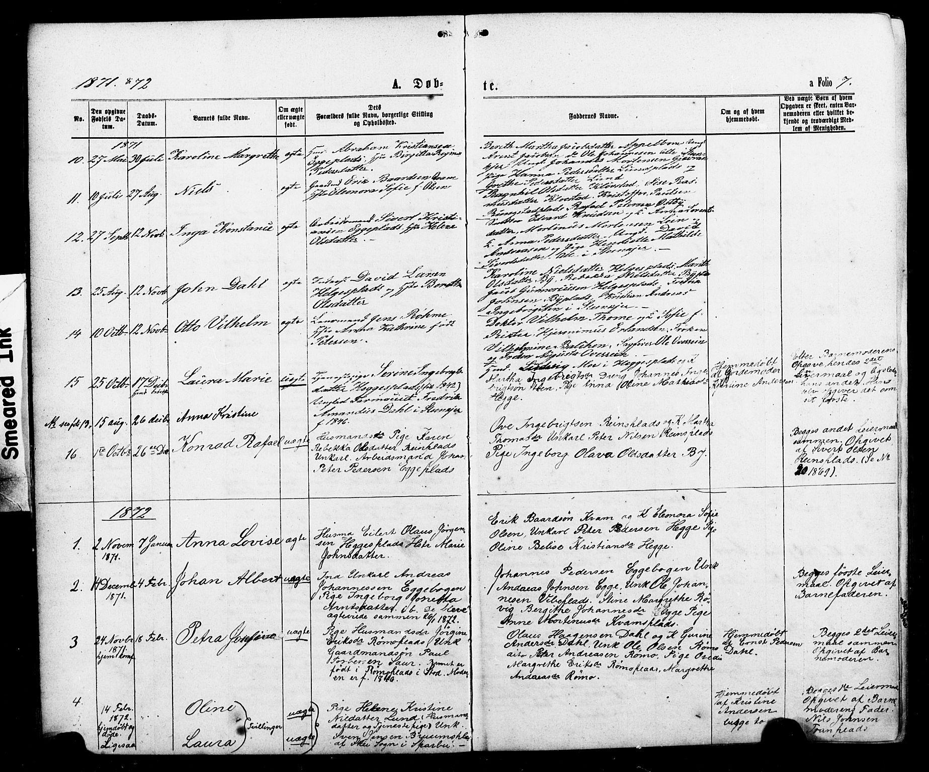 SAT, Ministerialprotokoller, klokkerbøker og fødselsregistre - Nord-Trøndelag, 740/L0380: Klokkerbok nr. 740C01, 1868-1902, s. 7
