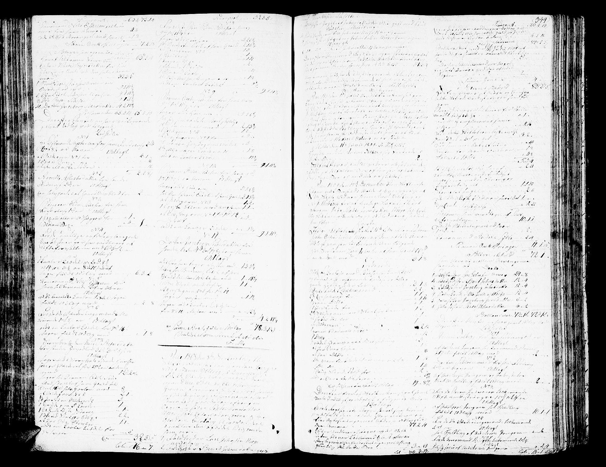 SAT, Romsdal sorenskriveri, 3/3A/L0013: Skifteprotokoll, 1802-1812, s. 343b-344a