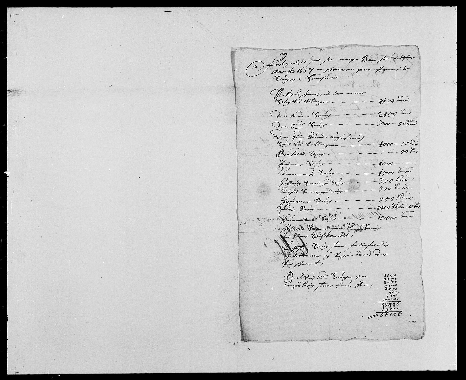 RA, Rentekammeret inntil 1814, Reviderte regnskaper, Fogderegnskap, R24/L1573: Fogderegnskap Numedal og Sandsvær, 1687-1691, s. 170