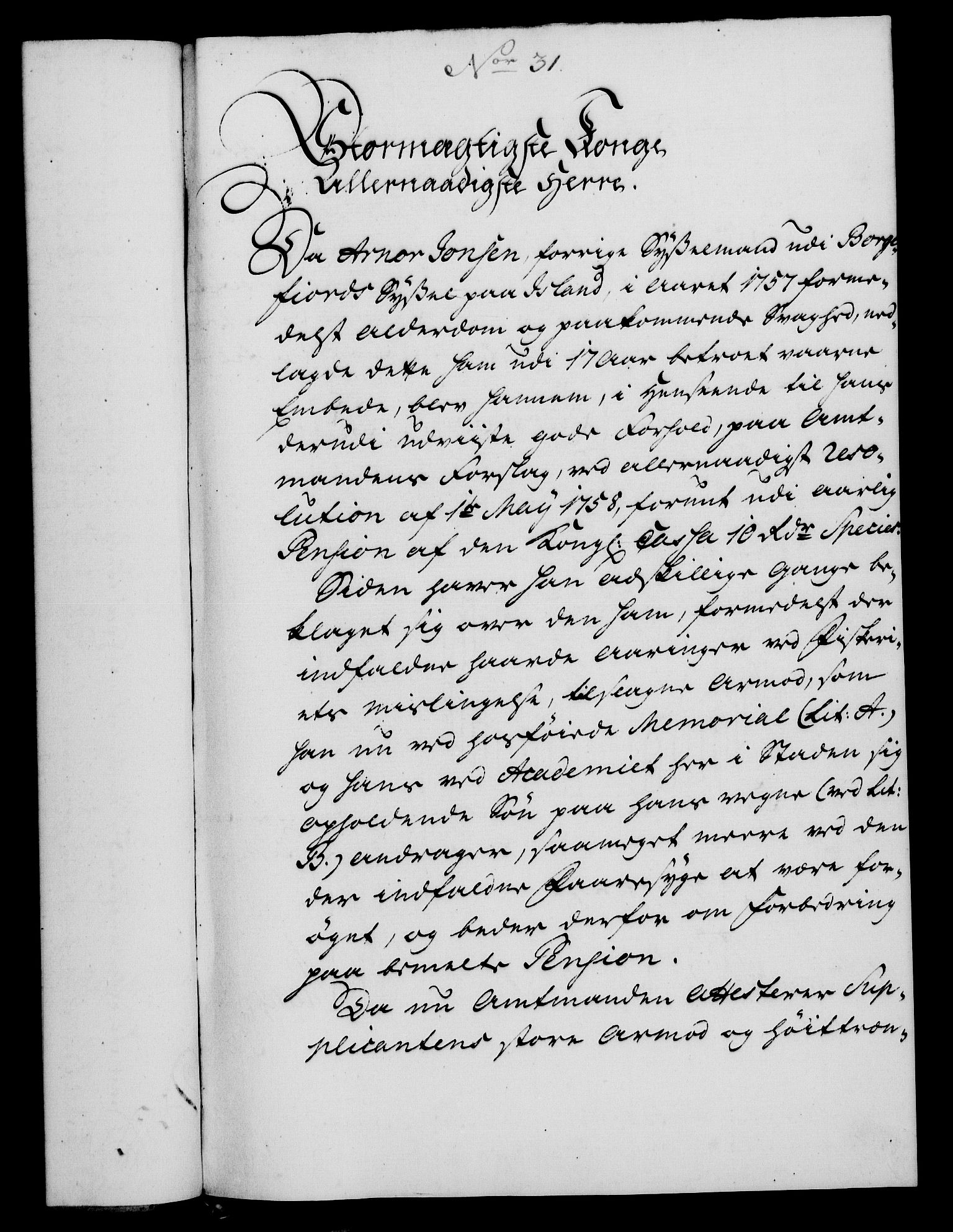 RA, Rentekammeret, Kammerkanselliet, G/Gf/Gfa/L0048: Norsk relasjons- og resolusjonsprotokoll (merket RK 52.48), 1766, s. 166