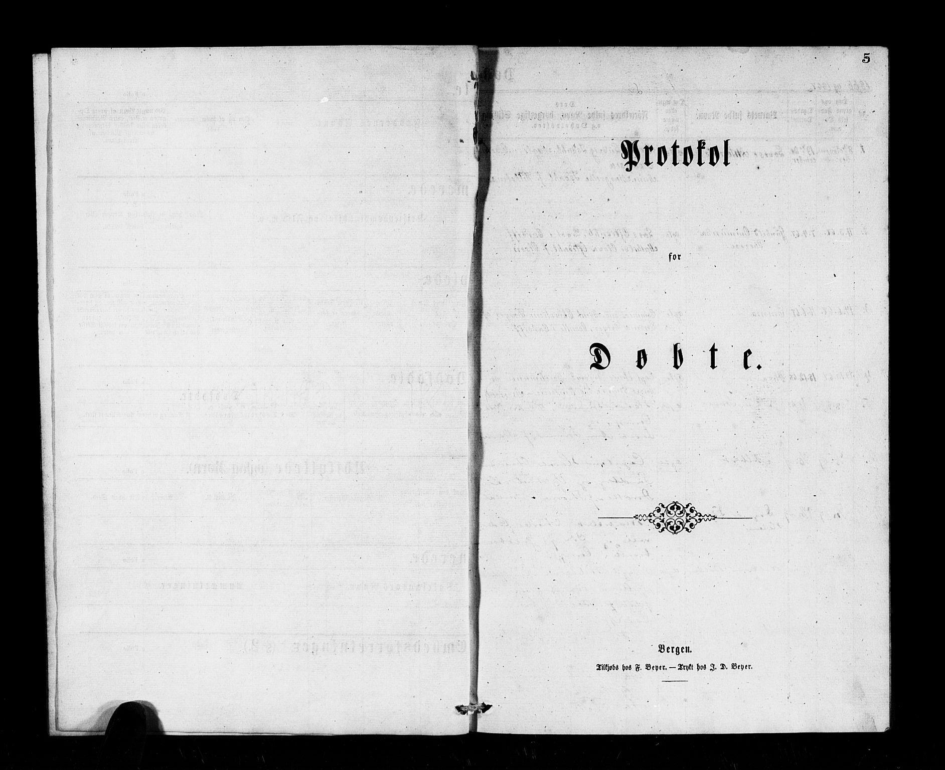 SAB, Den Norske Sjømannsmisjon i utlandet*, Ministerialbok nr. A 1, 1866-1887, s. 5
