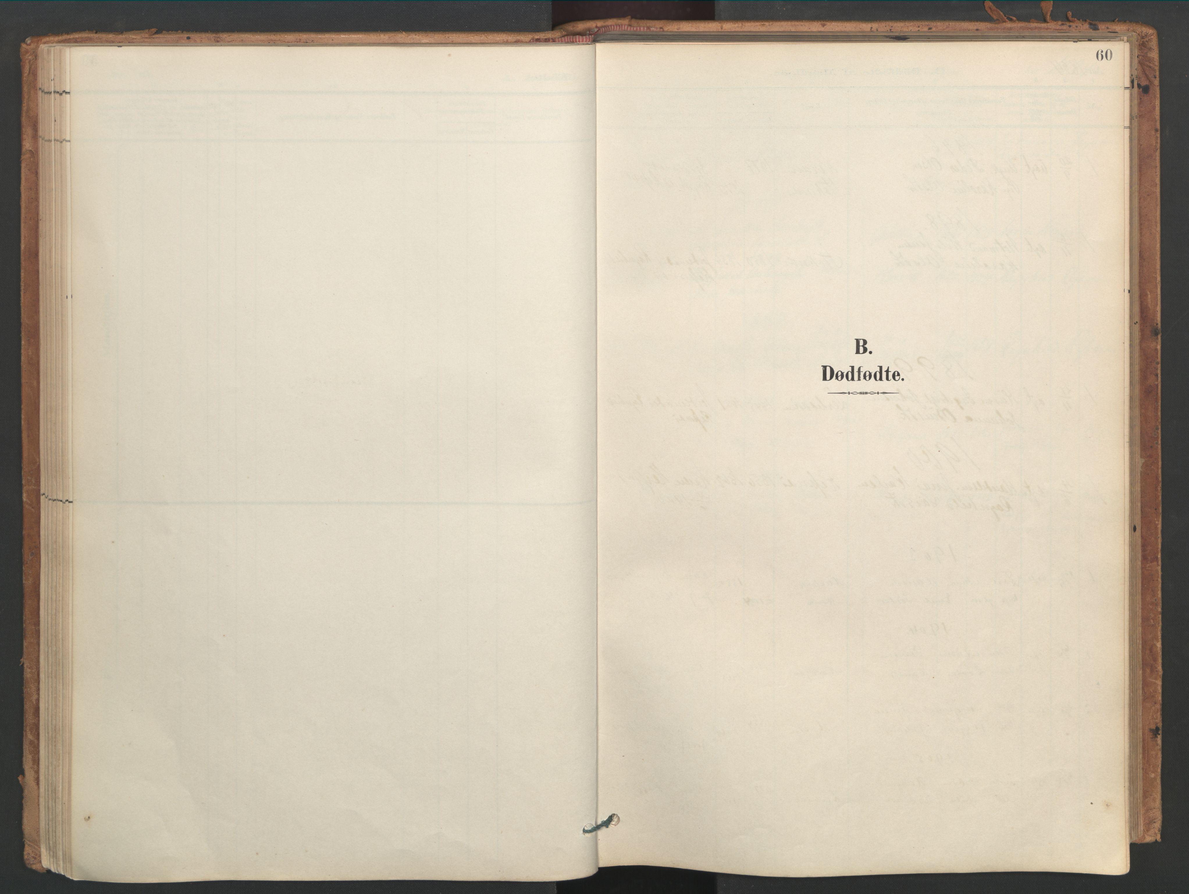 SAT, Ministerialprotokoller, klokkerbøker og fødselsregistre - Sør-Trøndelag, 656/L0693: Ministerialbok nr. 656A02, 1894-1913, s. 60