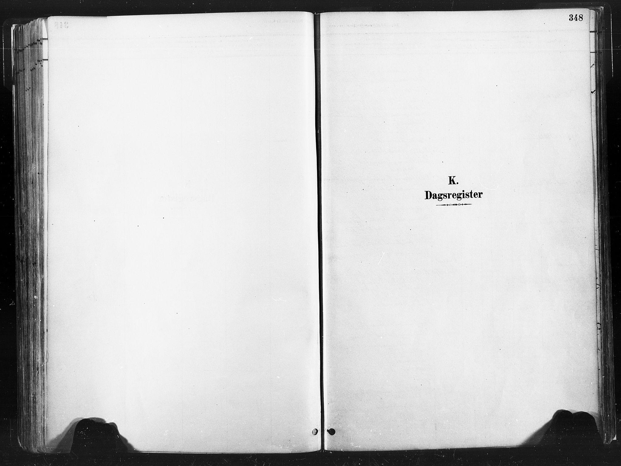 SAT, Ministerialprotokoller, klokkerbøker og fødselsregistre - Nord-Trøndelag, 735/L0351: Ministerialbok nr. 735A10, 1884-1908, s. 348