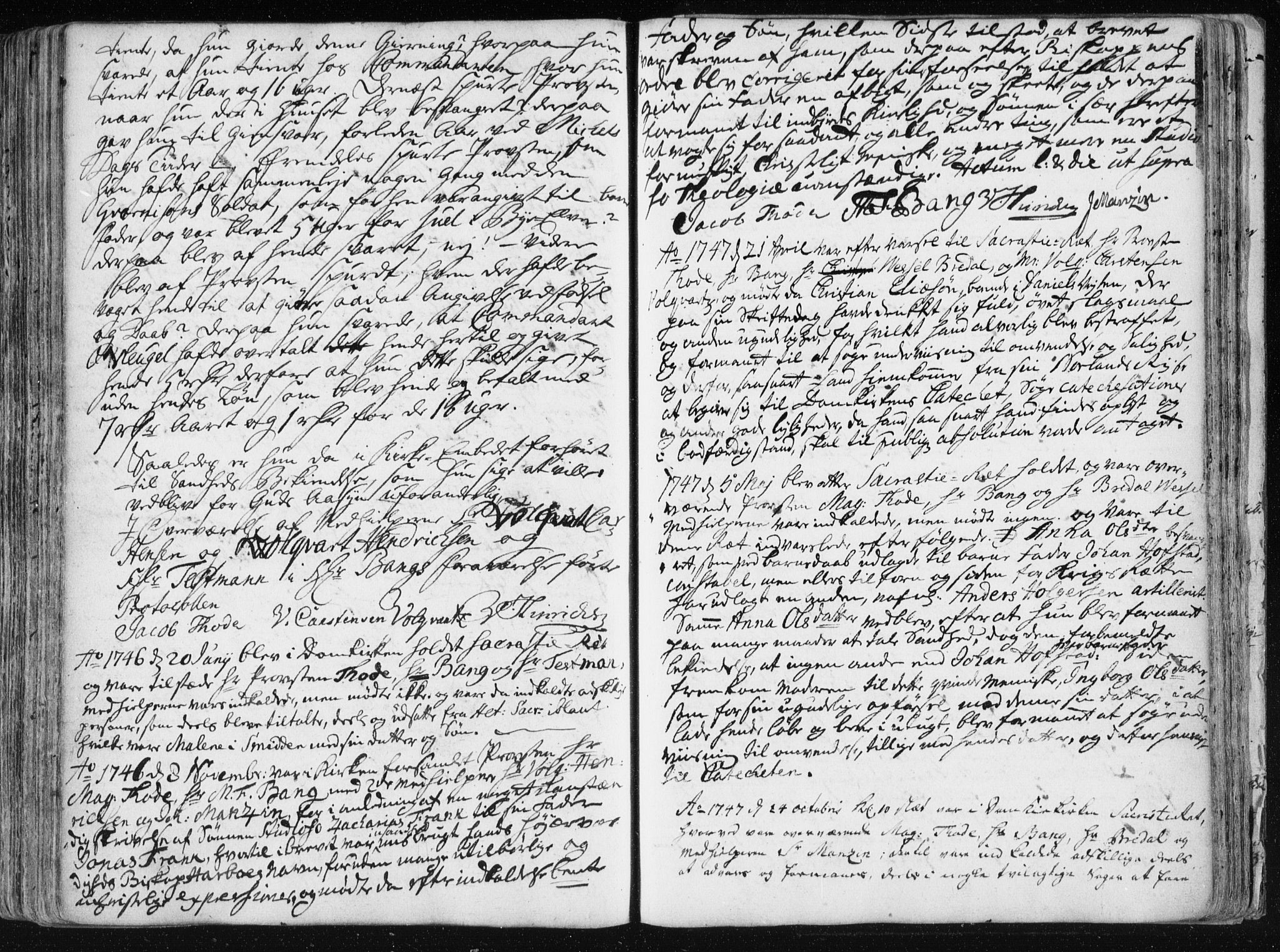 SAT, Ministerialprotokoller, klokkerbøker og fødselsregistre - Sør-Trøndelag, 601/L0036: Ministerialbok nr. 601A04, 1729-1769