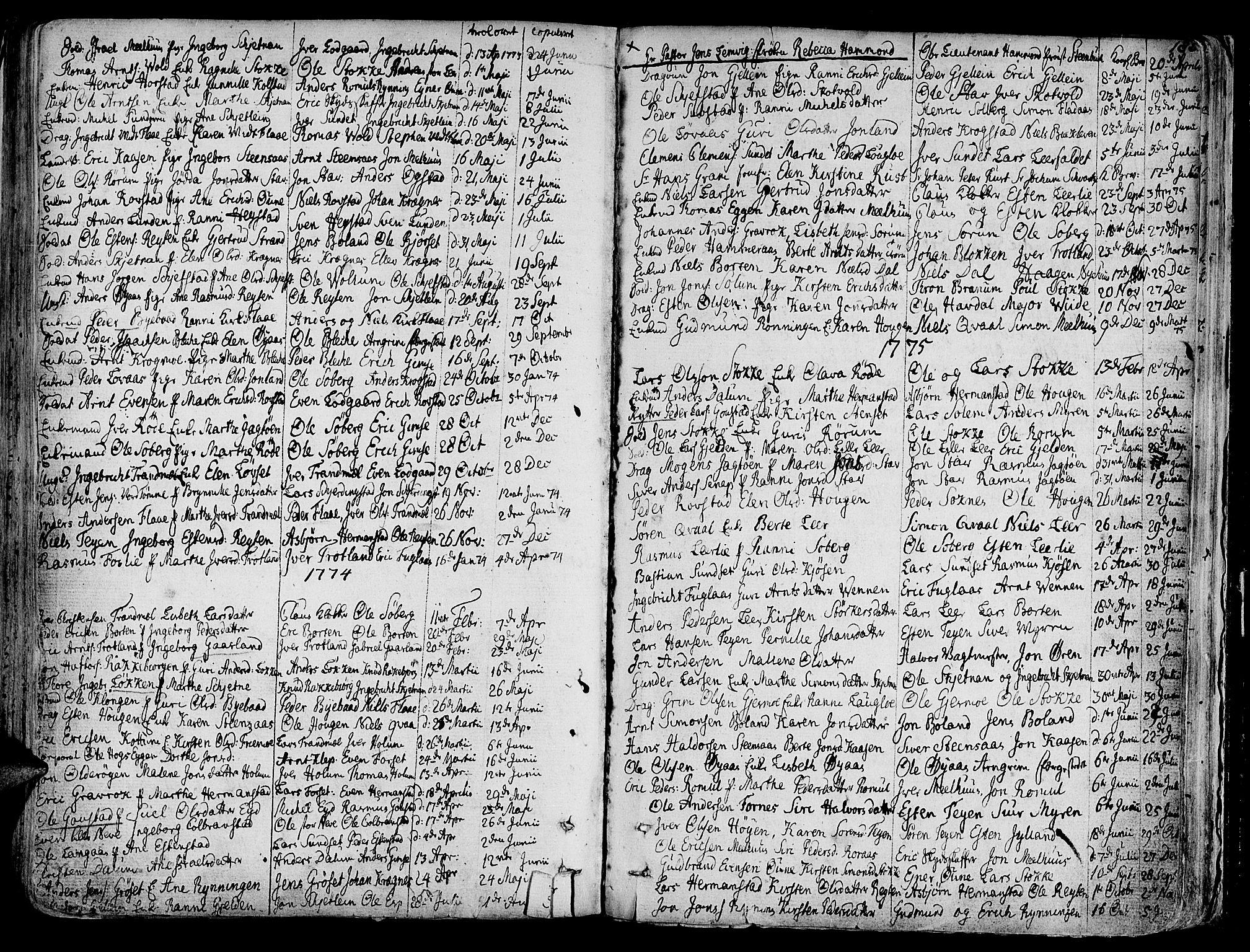 SAT, Ministerialprotokoller, klokkerbøker og fødselsregistre - Sør-Trøndelag, 691/L1061: Ministerialbok nr. 691A02 /1, 1768-1815, s. 182