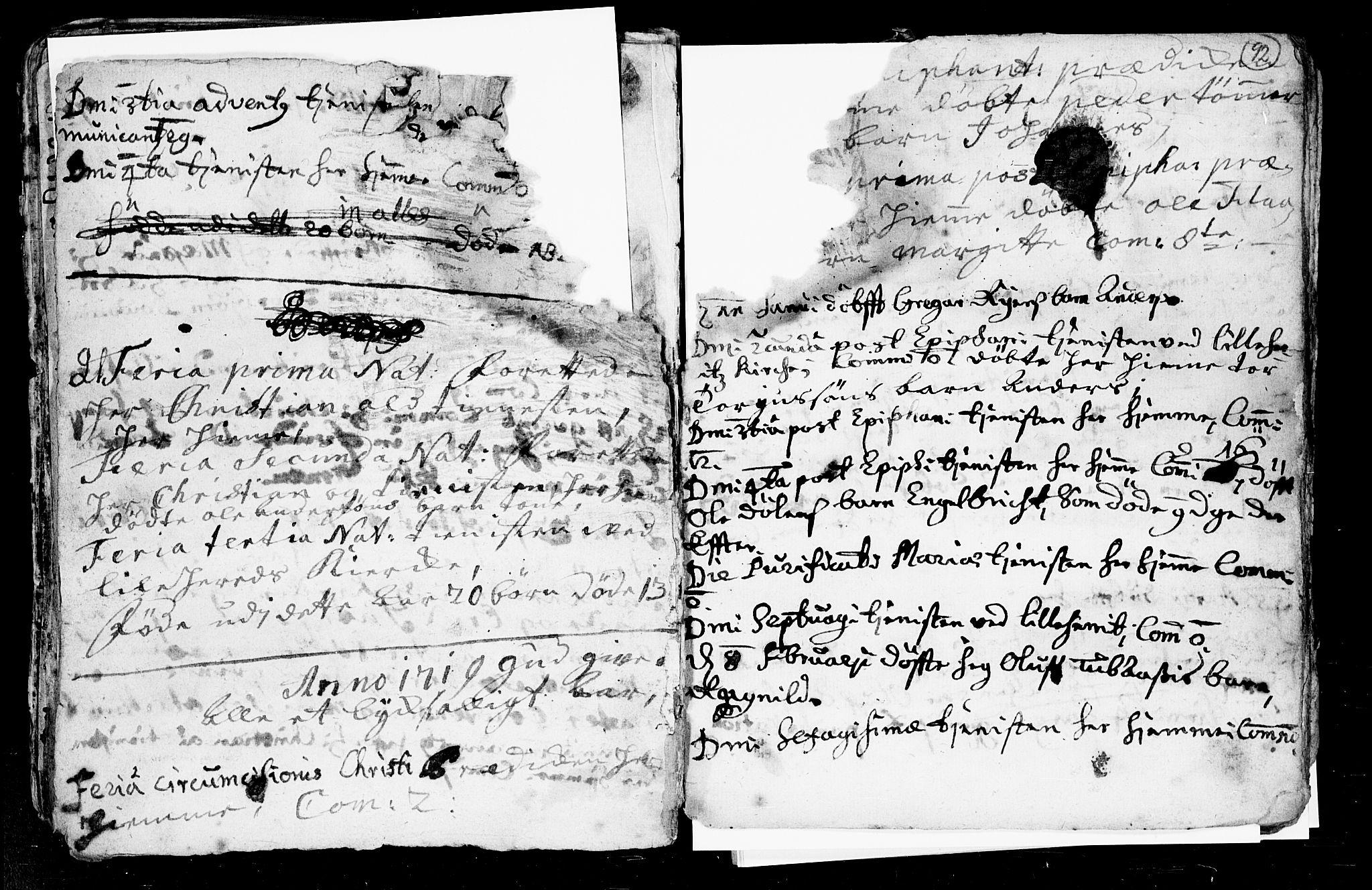SAKO, Heddal kirkebøker, F/Fa/L0002: Ministerialbok nr. I 2, 1699-1722, s. 92