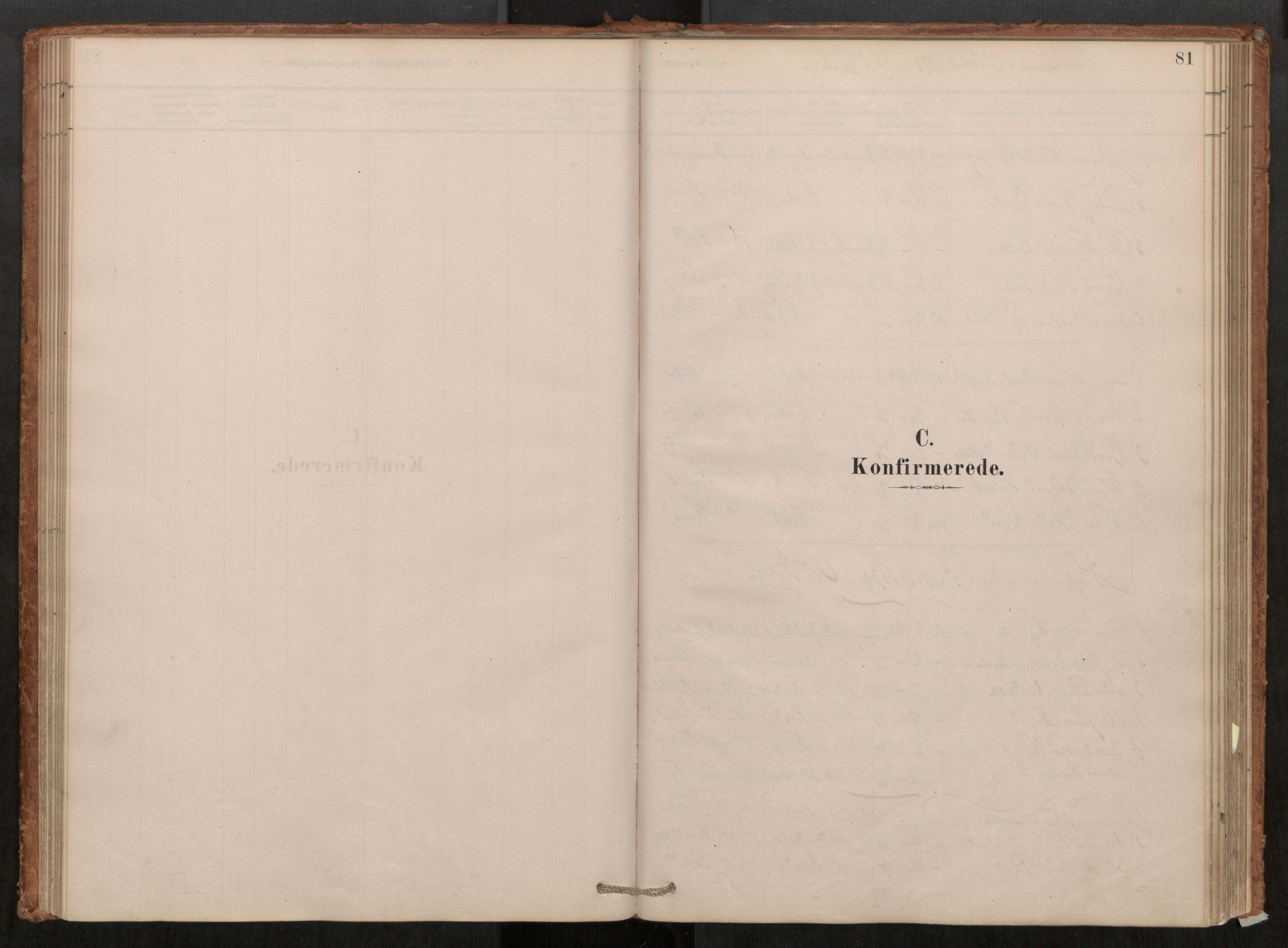SAT, Grytten sokneprestkontor, Ministerialbok nr. 550A01, 1878-1915, s. 81