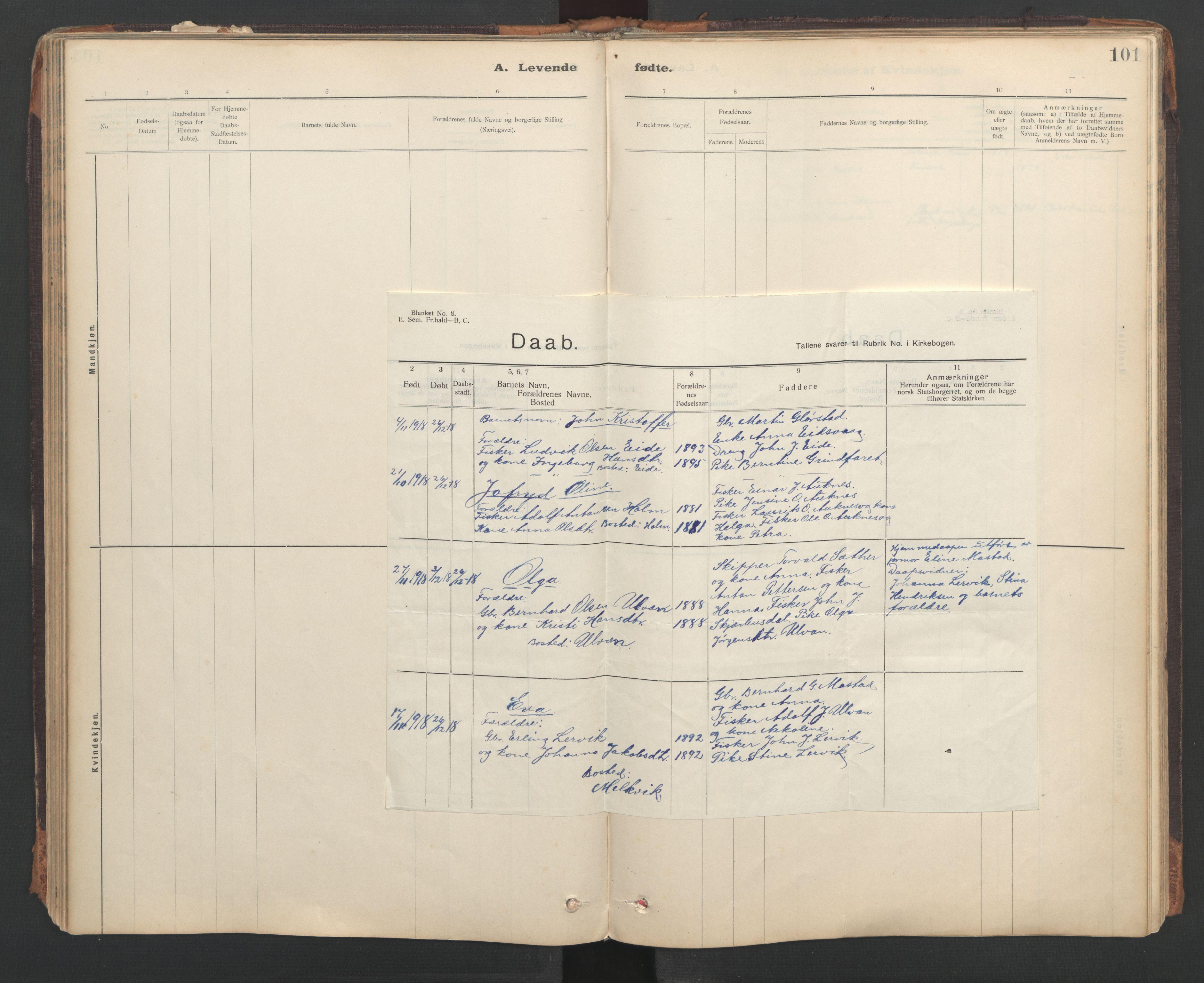 SAT, Ministerialprotokoller, klokkerbøker og fødselsregistre - Sør-Trøndelag, 637/L0559: Ministerialbok nr. 637A02, 1899-1923, s. 101