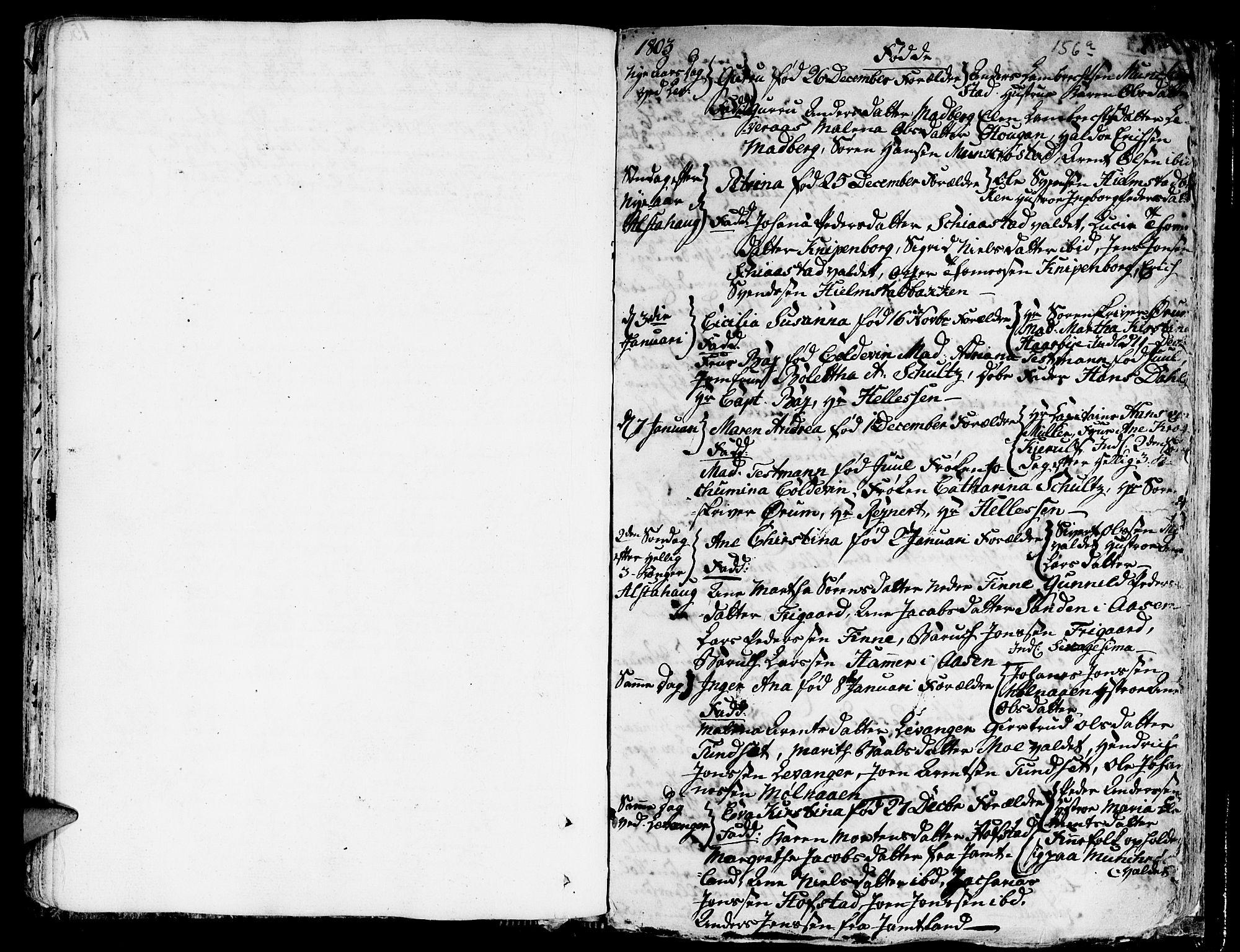 SAT, Ministerialprotokoller, klokkerbøker og fødselsregistre - Nord-Trøndelag, 717/L0142: Ministerialbok nr. 717A02 /1, 1783-1809, s. 156b