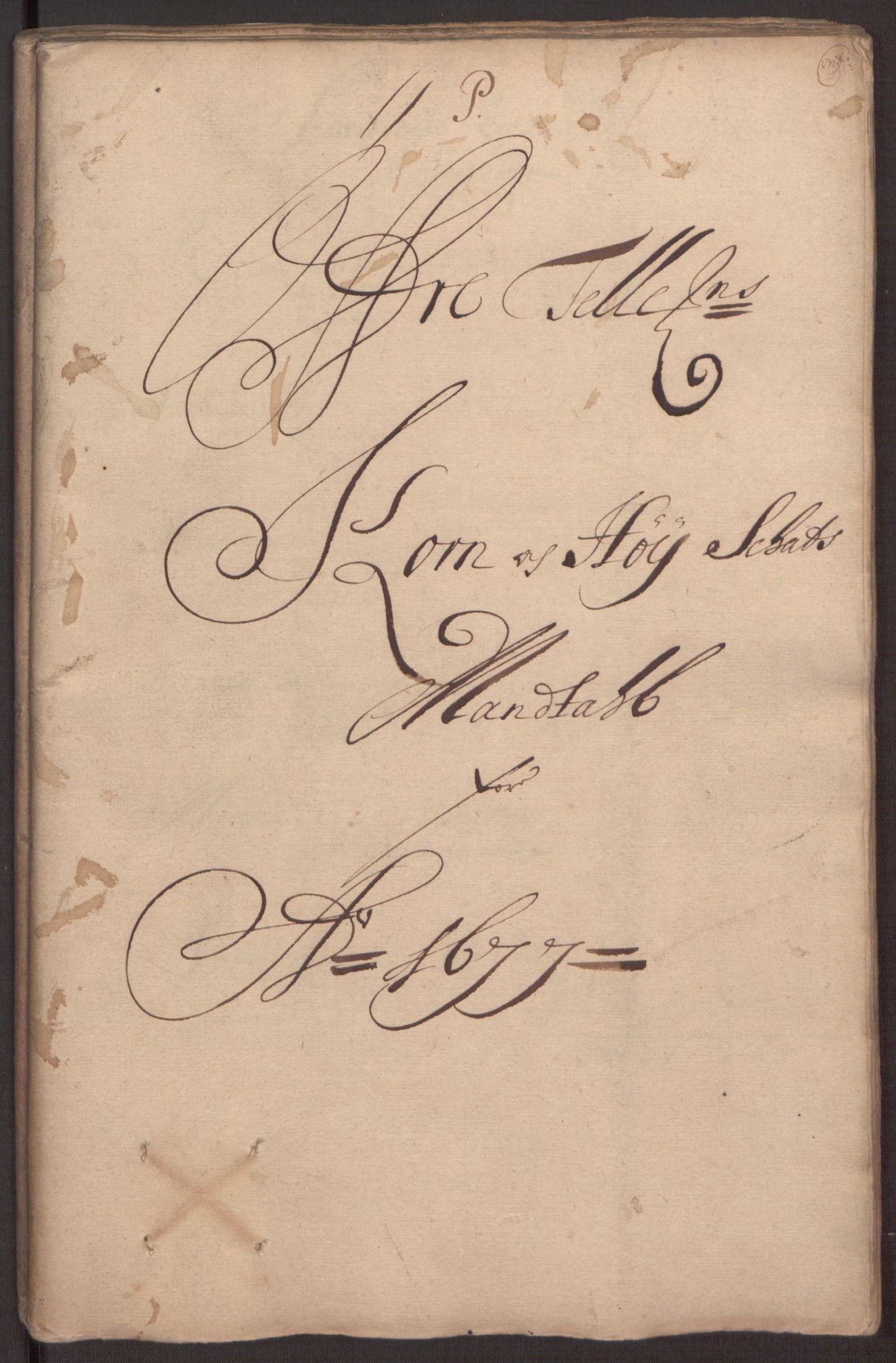 RA, Rentekammeret inntil 1814, Reviderte regnskaper, Fogderegnskap, R35/L2067: Fogderegnskap Øvre og Nedre Telemark, 1677, s. 270