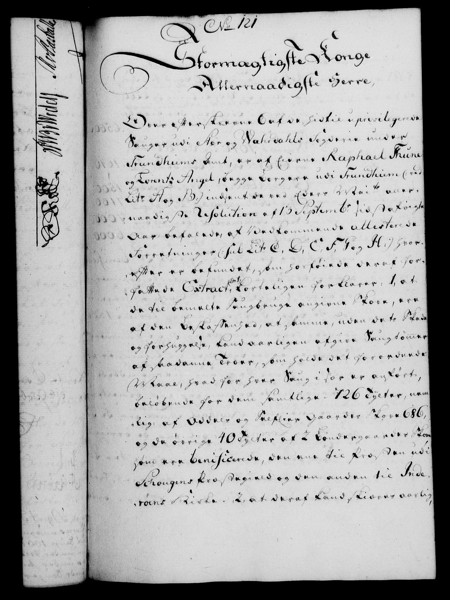 RA, Rentekammeret, Kammerkanselliet, G/Gf/Gfa/L0039: Norsk relasjons- og resolusjonsprotokoll (merket RK 52.39), 1757, s. 666