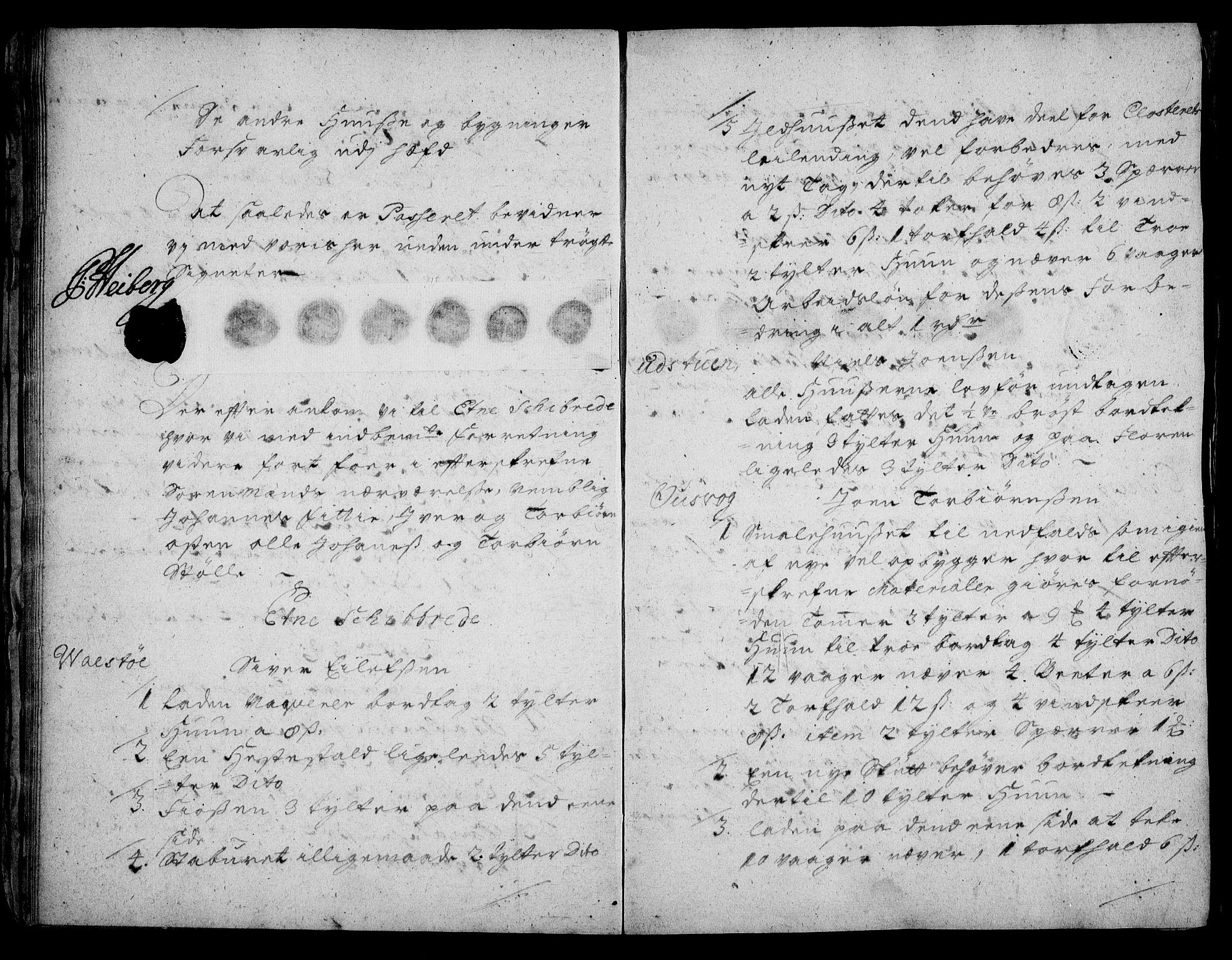 RA, Rentekammeret inntil 1814, Realistisk ordnet avdeling, On/L0003: [Jj 4]: Kommisjonsforretning over Vilhelm Hanssøns forpaktning av Halsnøy klosters gods, 1721-1729, s. 16