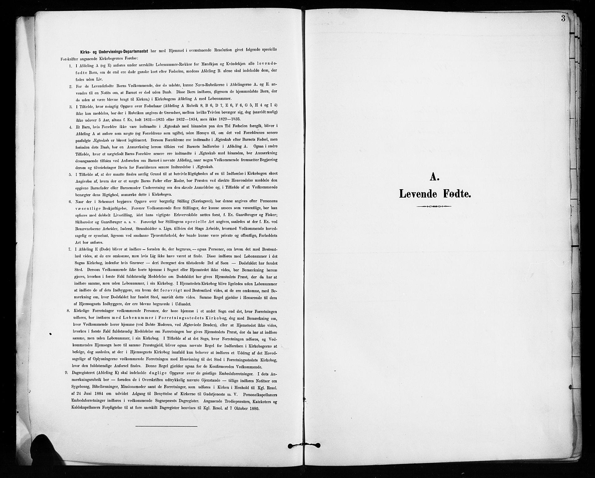 SAH, Vardal prestekontor, H/Ha/Hab/L0010: Klokkerbok nr. 10, 1895-1903, s. 3