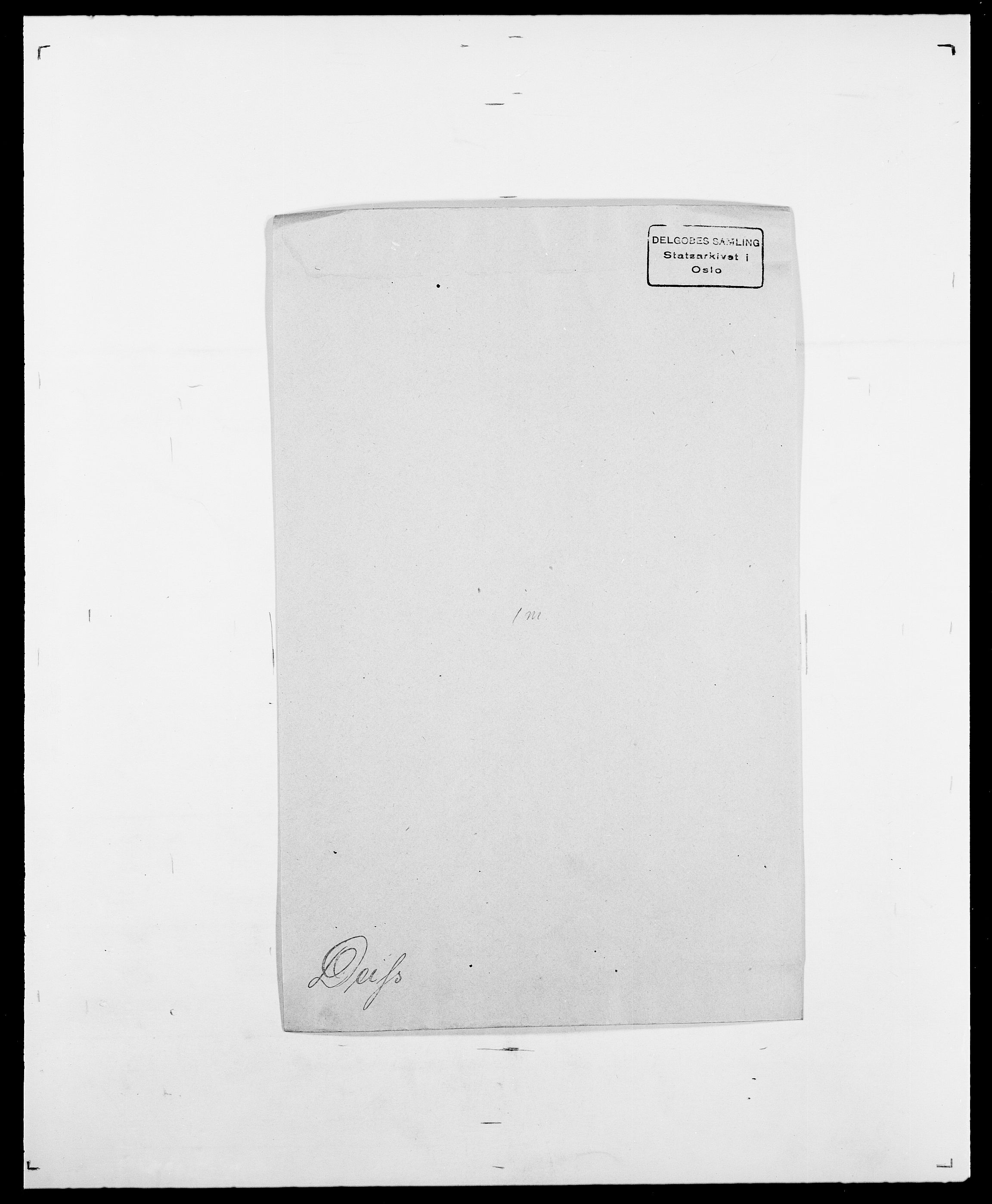 SAO, Delgobe, Charles Antoine - samling, D/Da/L0009: Dahl - v. Düren, s. 461