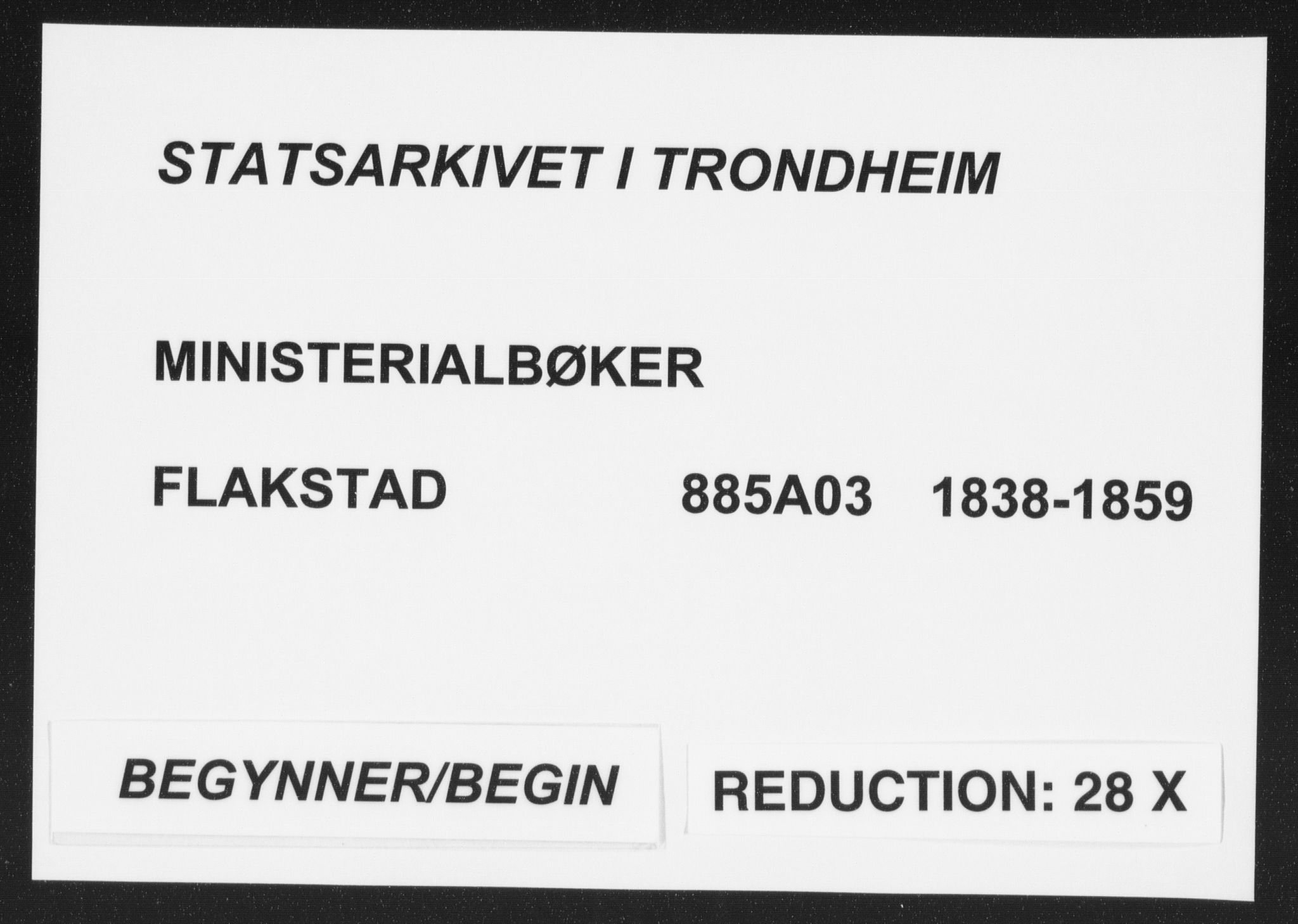 SAT, Ministerialprotokoller, klokkerbøker og fødselsregistre - Nordland, 885/L1202: Ministerialbok nr. 885A03, 1838-1859