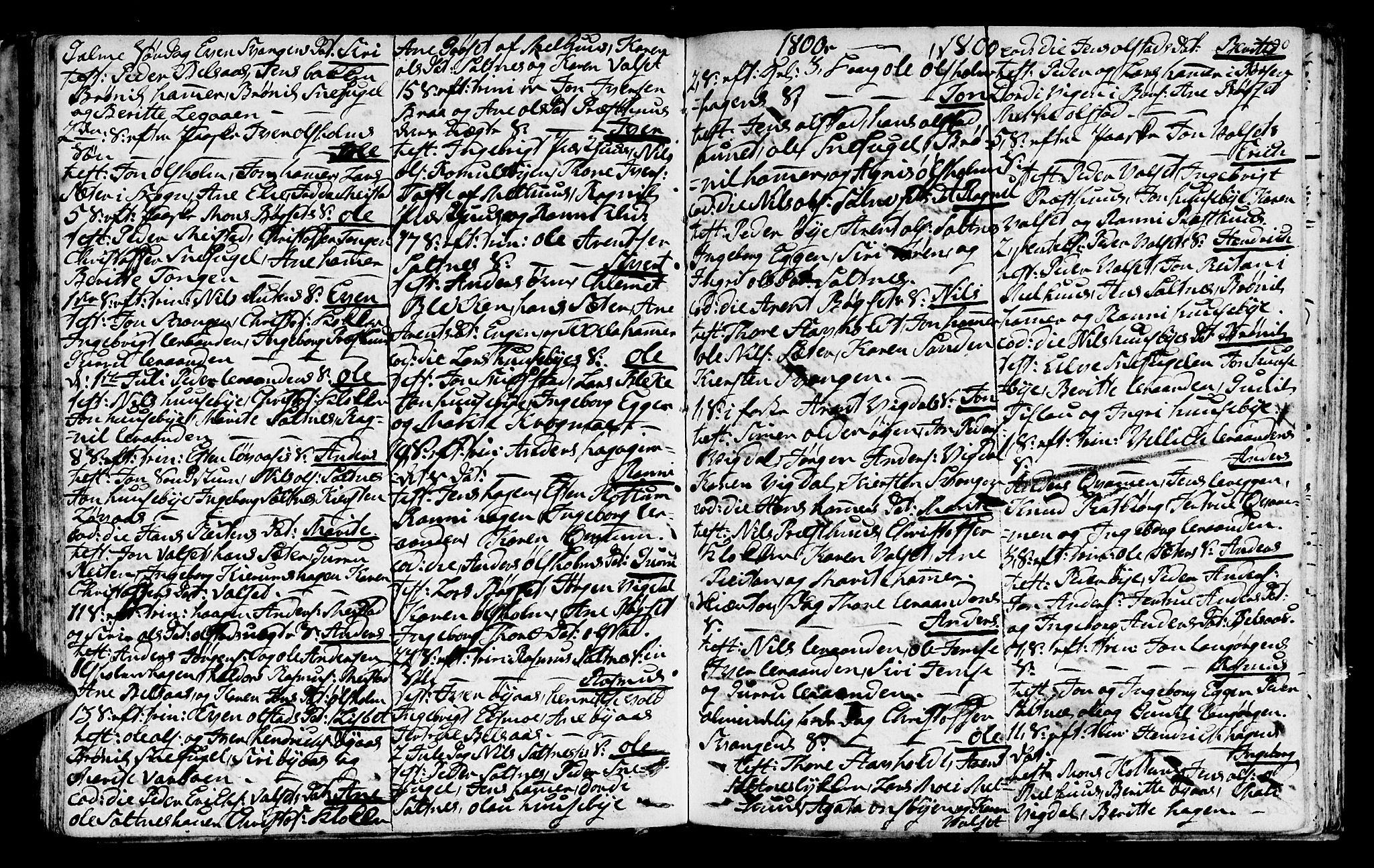 SAT, Ministerialprotokoller, klokkerbøker og fødselsregistre - Sør-Trøndelag, 666/L0784: Ministerialbok nr. 666A02, 1754-1802, s. 90