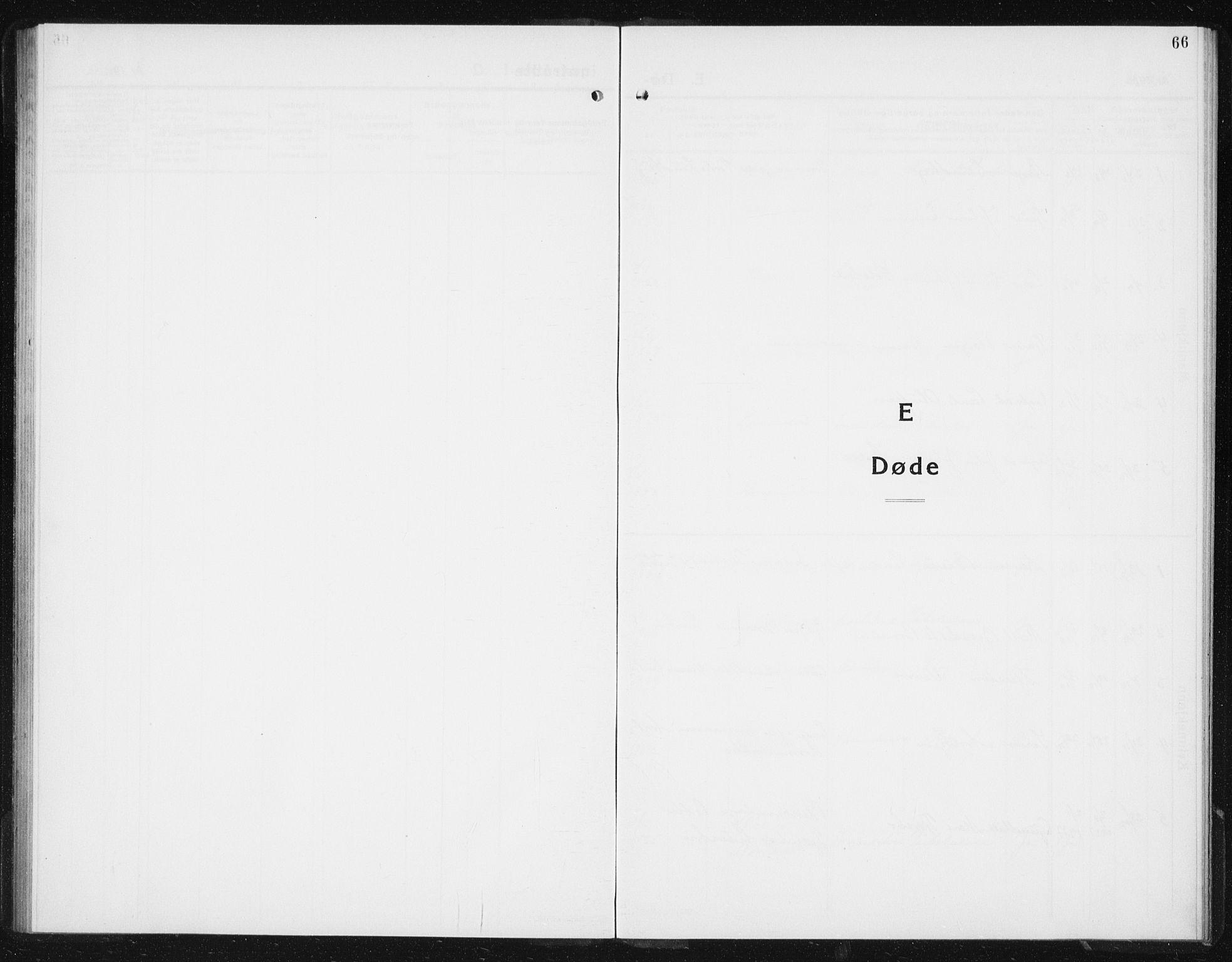 SAT, Ministerialprotokoller, klokkerbøker og fødselsregistre - Sør-Trøndelag, 617/L0432: Klokkerbok nr. 617C03, 1936-1942, s. 66