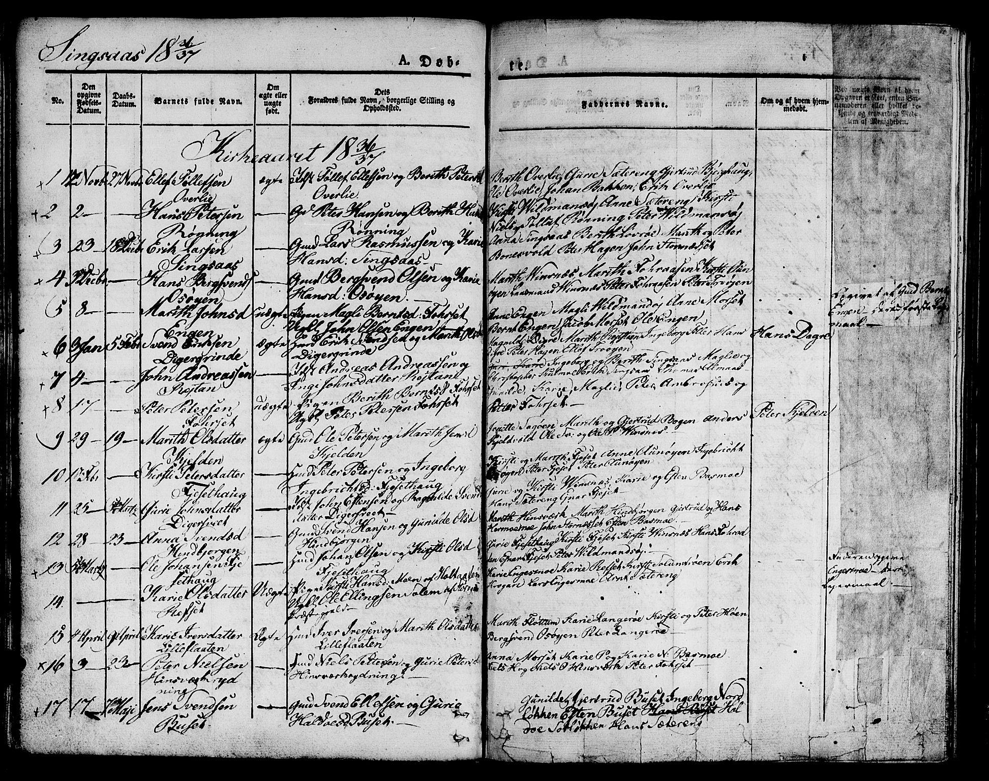 SAT, Ministerialprotokoller, klokkerbøker og fødselsregistre - Sør-Trøndelag, 685/L0958: Ministerialbok nr. 685A04 /2, 1829-1845, s. 46
