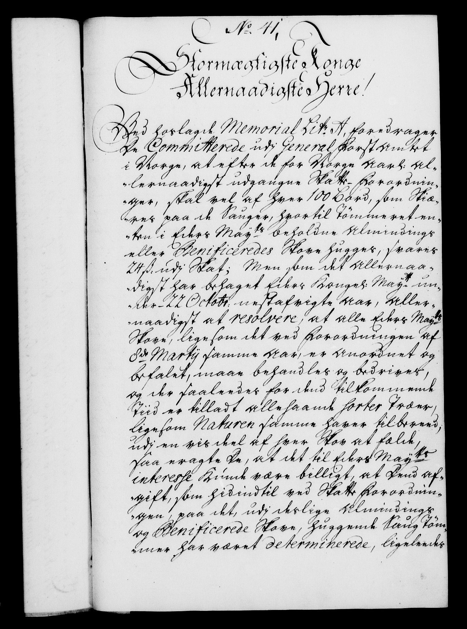 RA, Rentekammeret, Kammerkanselliet, G/Gf/Gfa/L0024: Norsk relasjons- og resolusjonsprotokoll (merket RK 52.24), 1741, s. 235