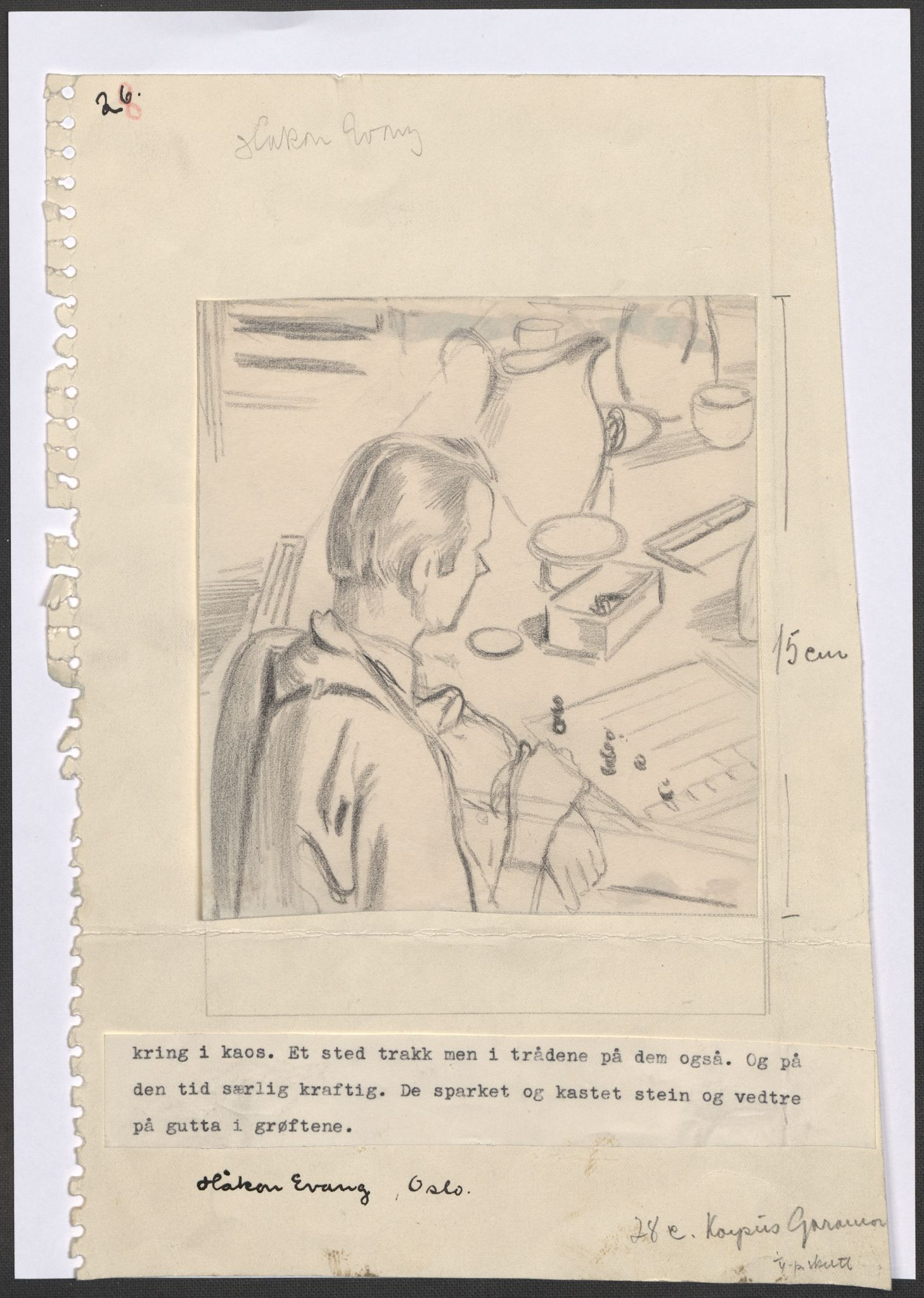 RA, Grøgaard, Joachim, F/L0002: Tegninger og tekster, 1942-1945, s. 33