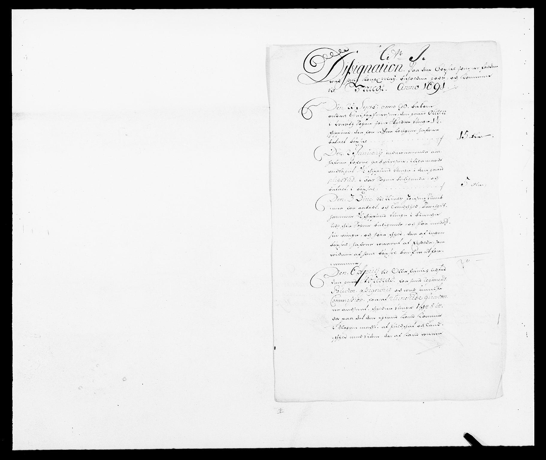 RA, Rentekammeret inntil 1814, Reviderte regnskaper, Fogderegnskap, R09/L0435: Fogderegnskap Follo, 1689-1691, s. 413