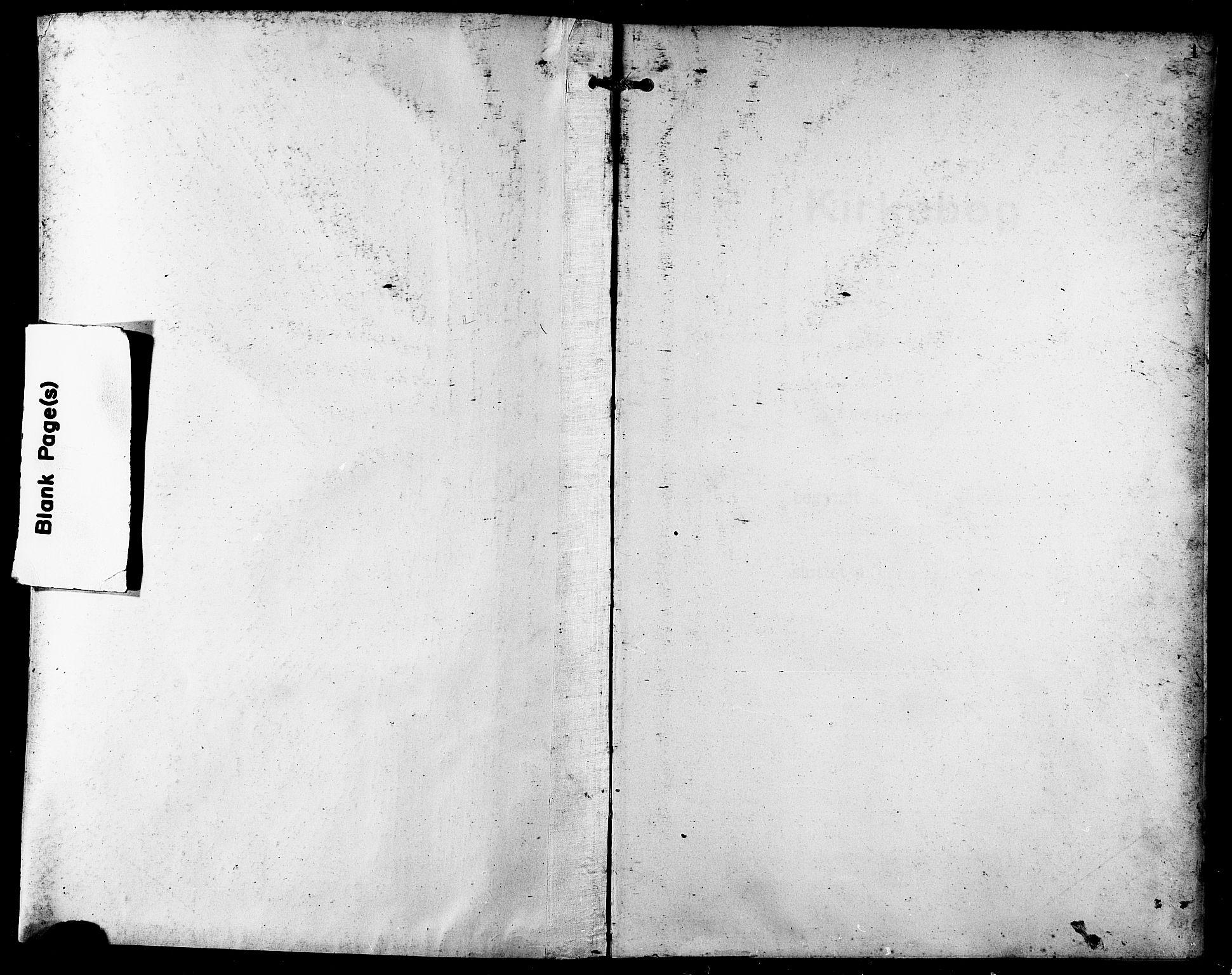 SATØ, Trondenes sokneprestkontor, H/Hb/L0012klokker: Klokkerbok nr. 12, 1907-1916, s. 1