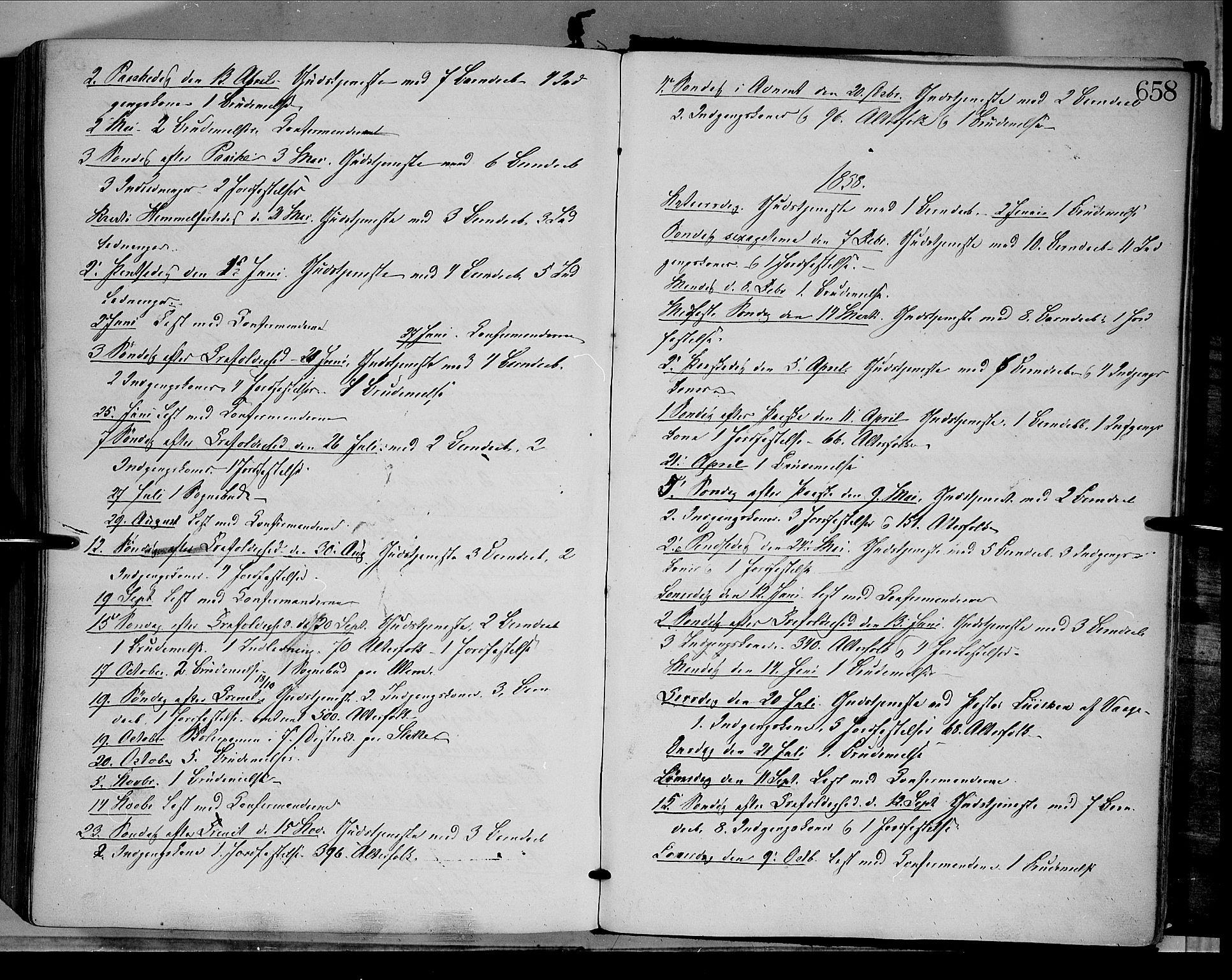 SAH, Dovre prestekontor, Ministerialbok nr. 1, 1854-1878, s. 658